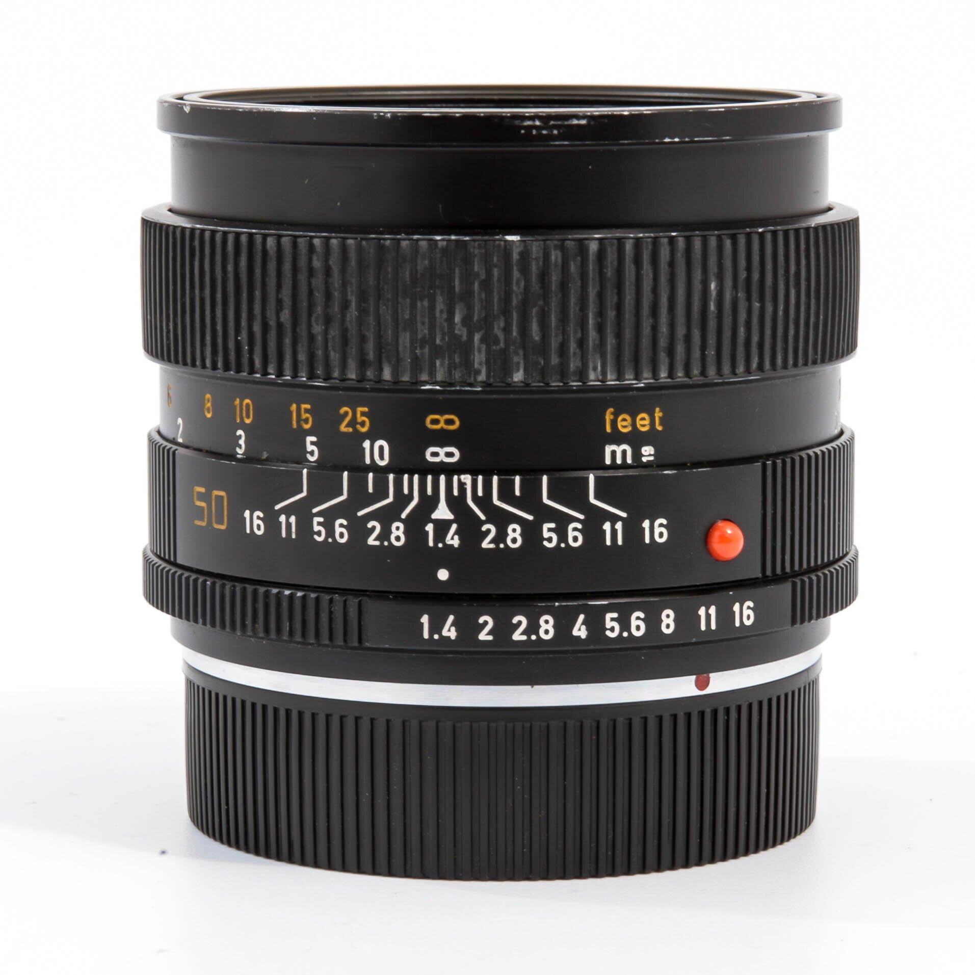 Leica R 50mm 1:1,4 Summilux-R