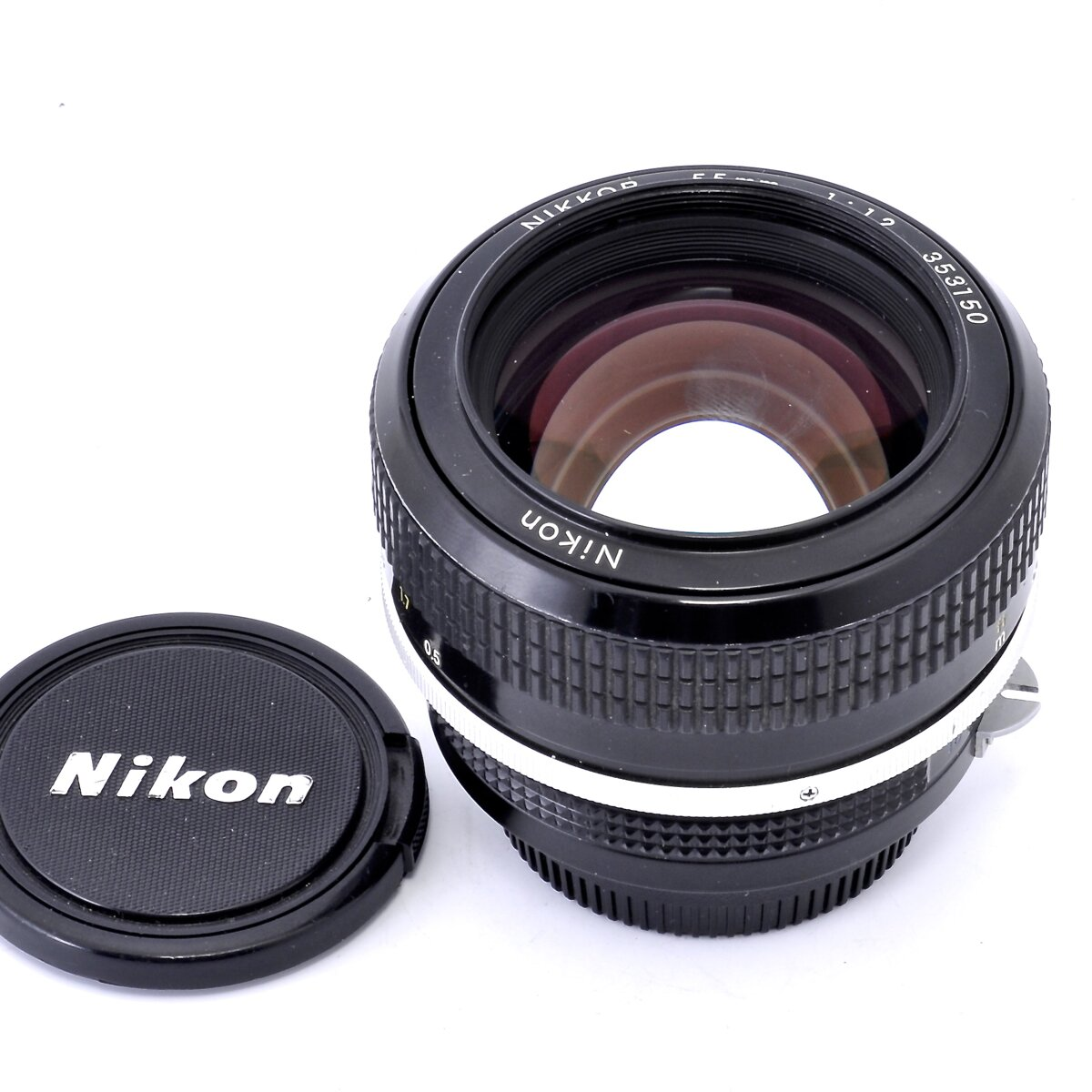 Nikon pre AI 55mm 1:1,2 Nikkor