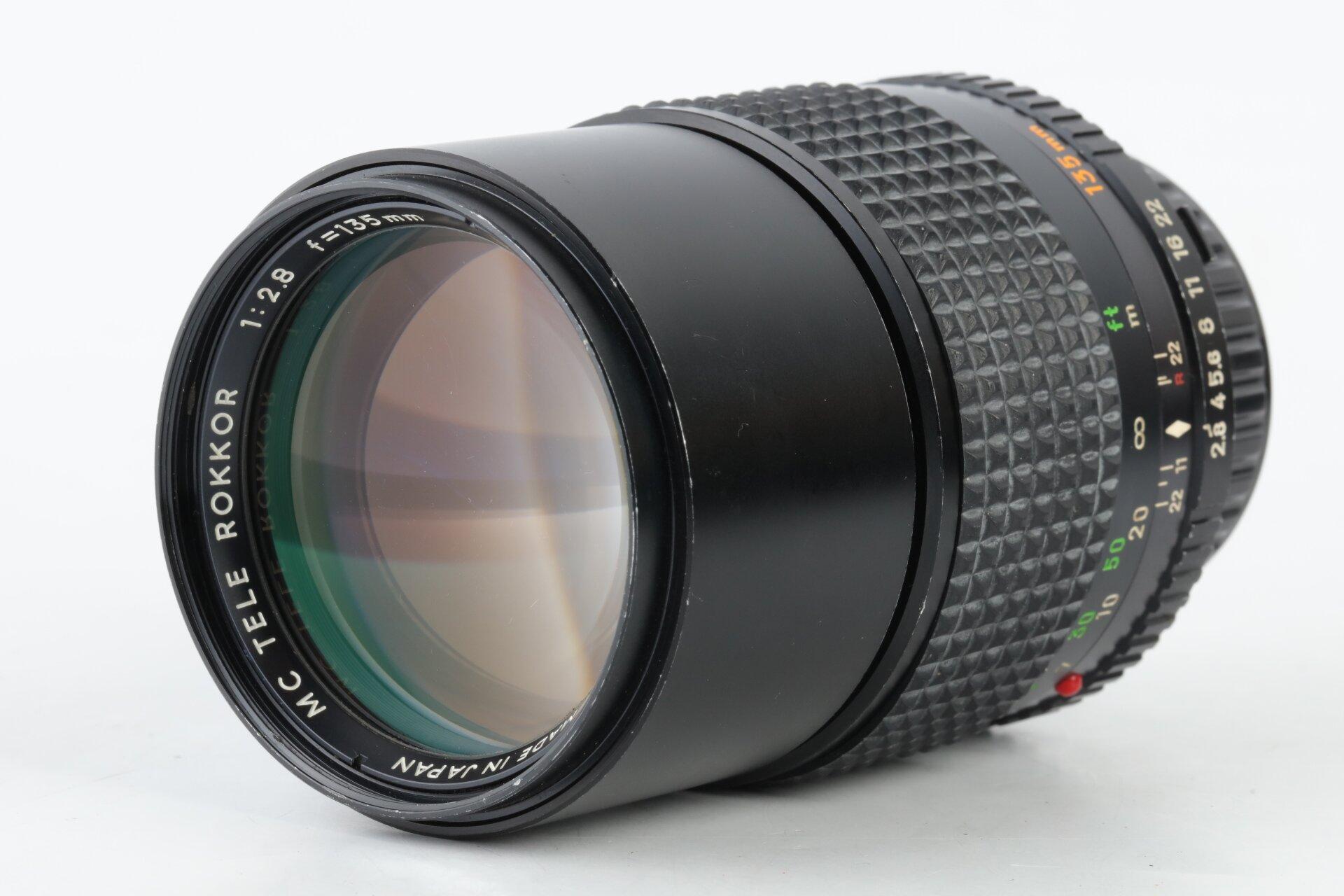 Minolta MD MC Tele Rokkor 2,8/135mm