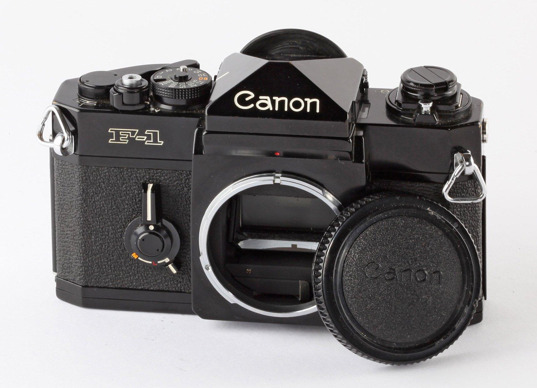 Canon F-1 schwarz Gehäuse