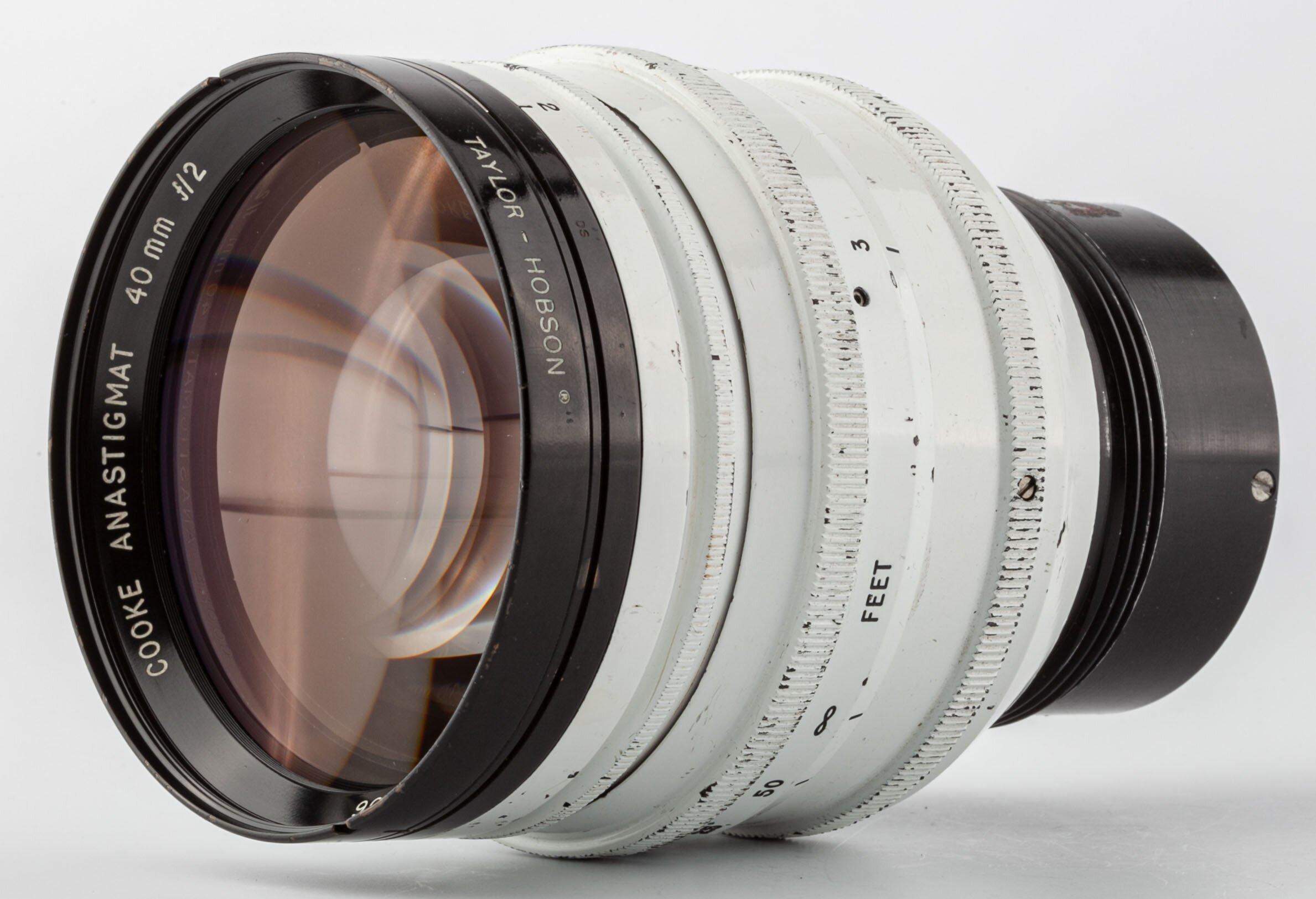 TAYLOR HOBSON Cooke Anastigmat 40mm f2