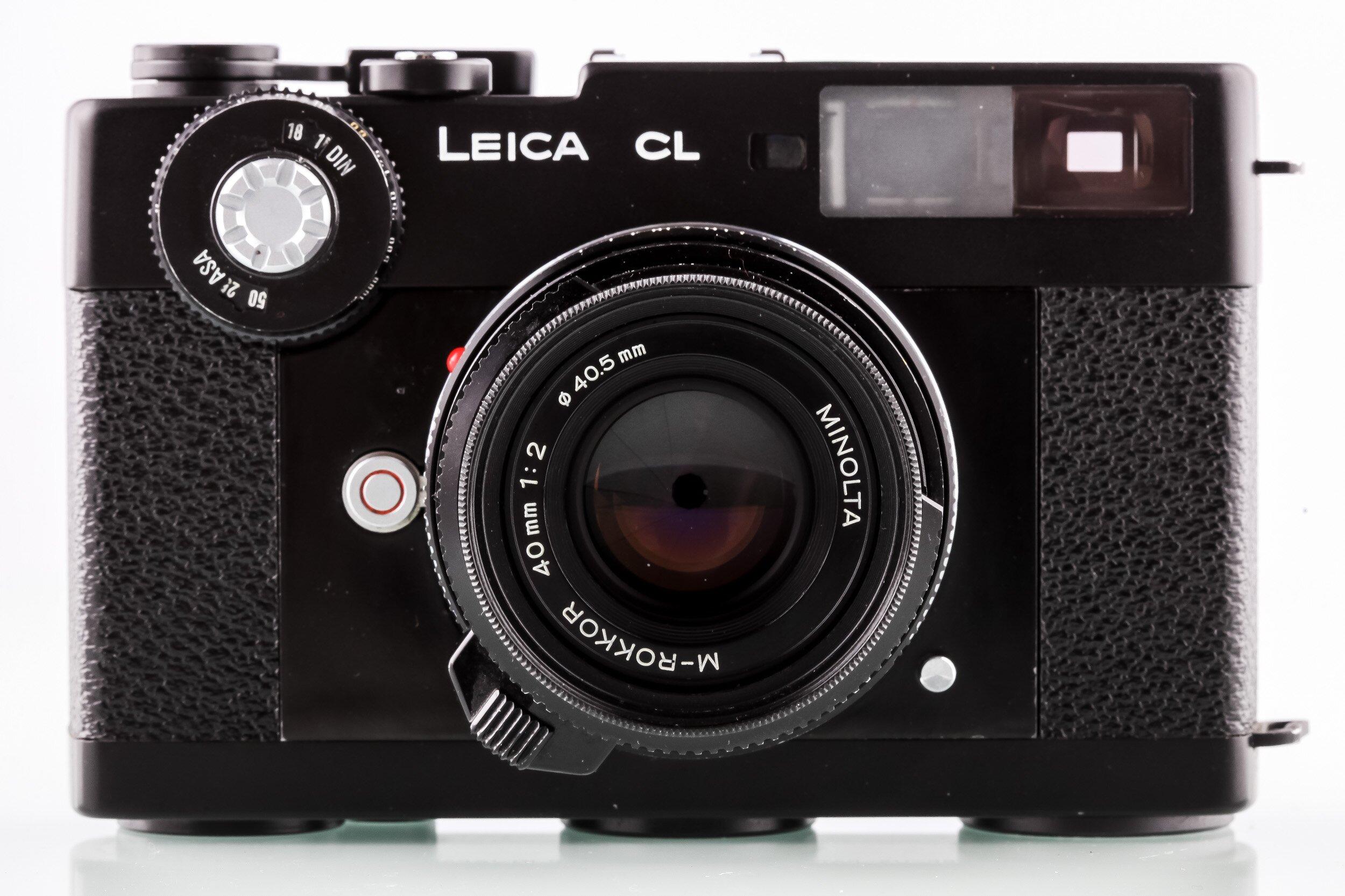 Leica CL Gehäuse Minolta M-Rokkor 40mm F2
