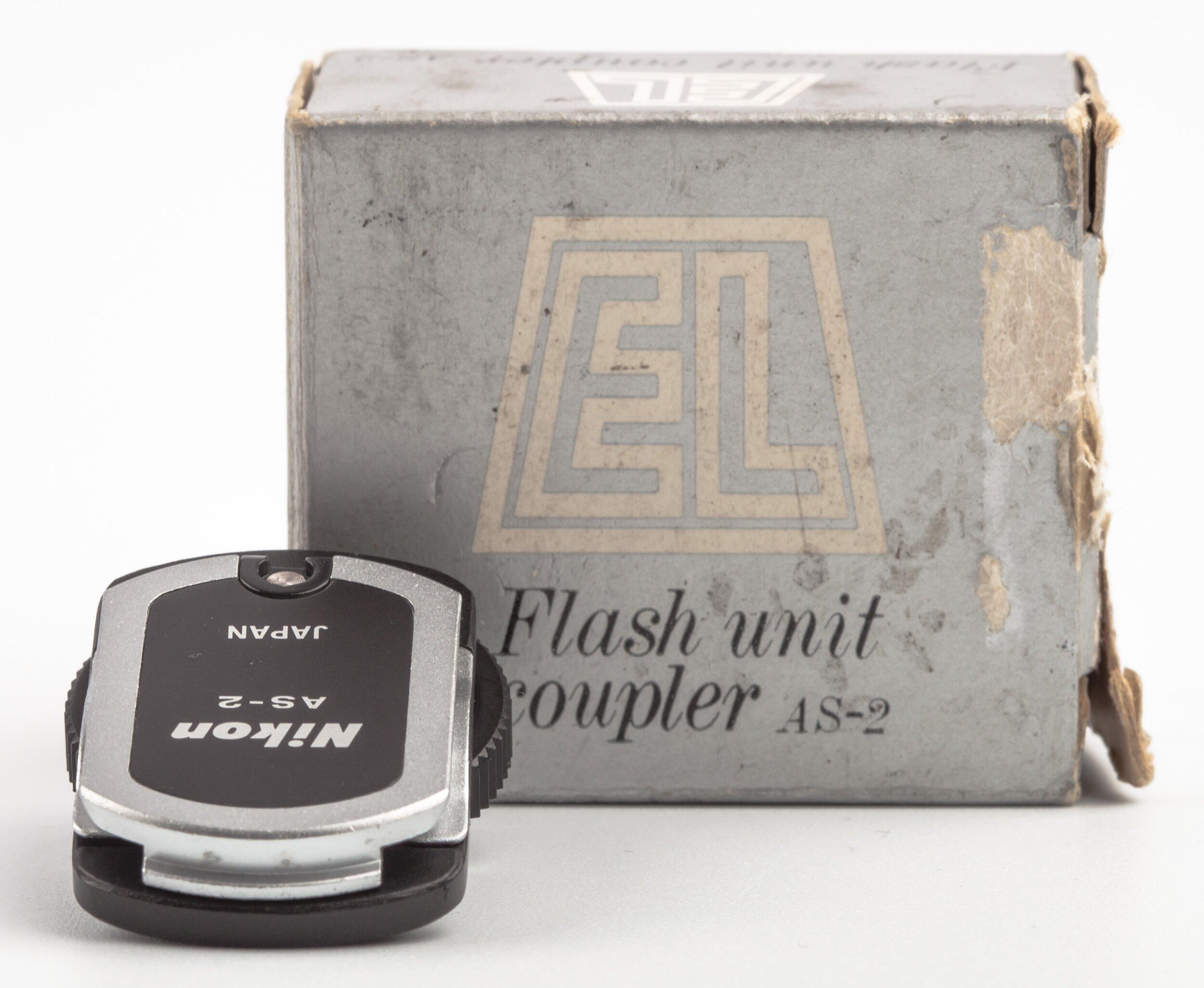 Nikon AS-2 flashcoupler, F2-flashes to centreconta