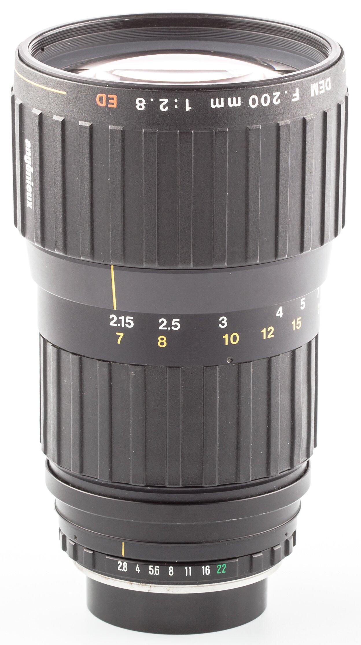 Angenieux f. Contax RTS 2,8/200mm ED DEM  Contax MM