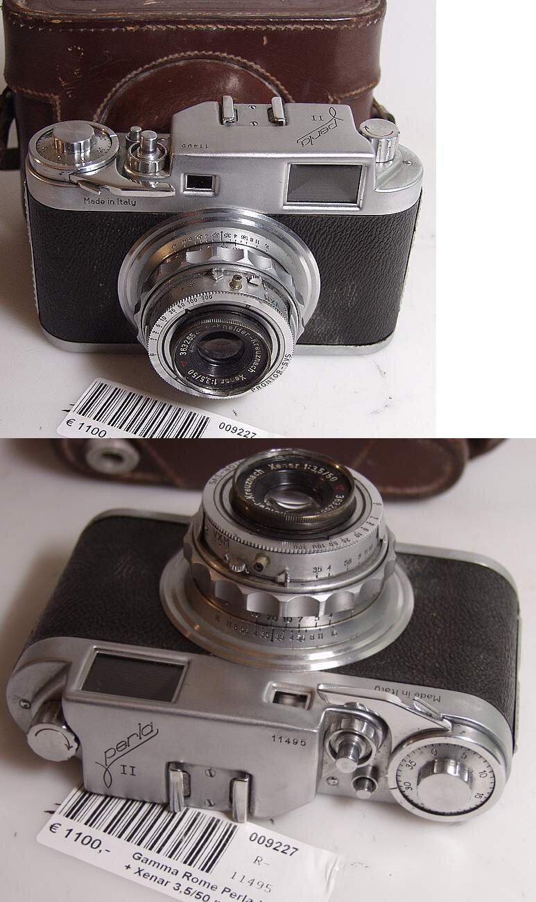 Gamma Rome Perla II + Xenar 3,5/50 mm
