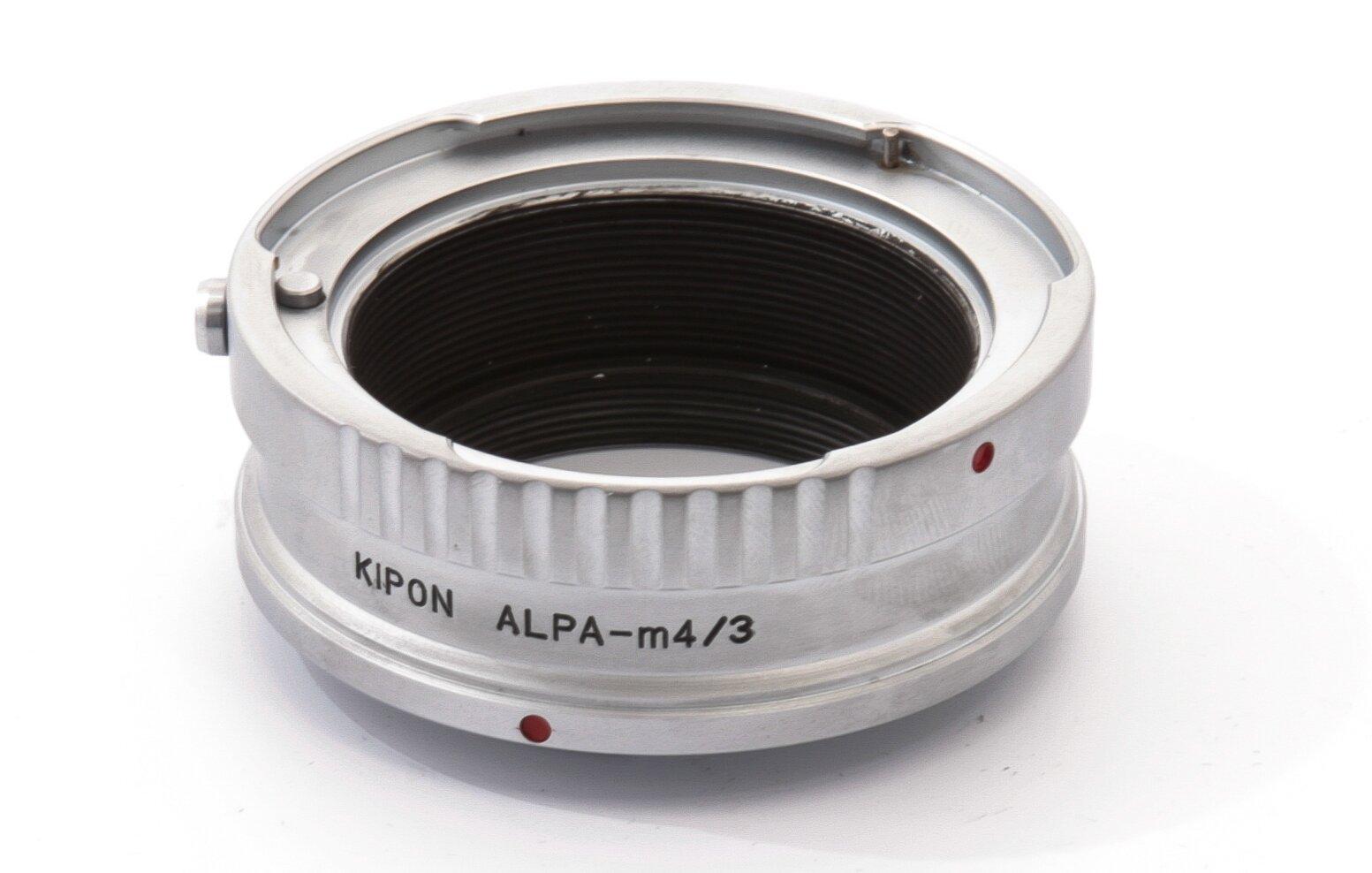 Adapter Alpa Objektive an Micro Fourthirds Gehäuse