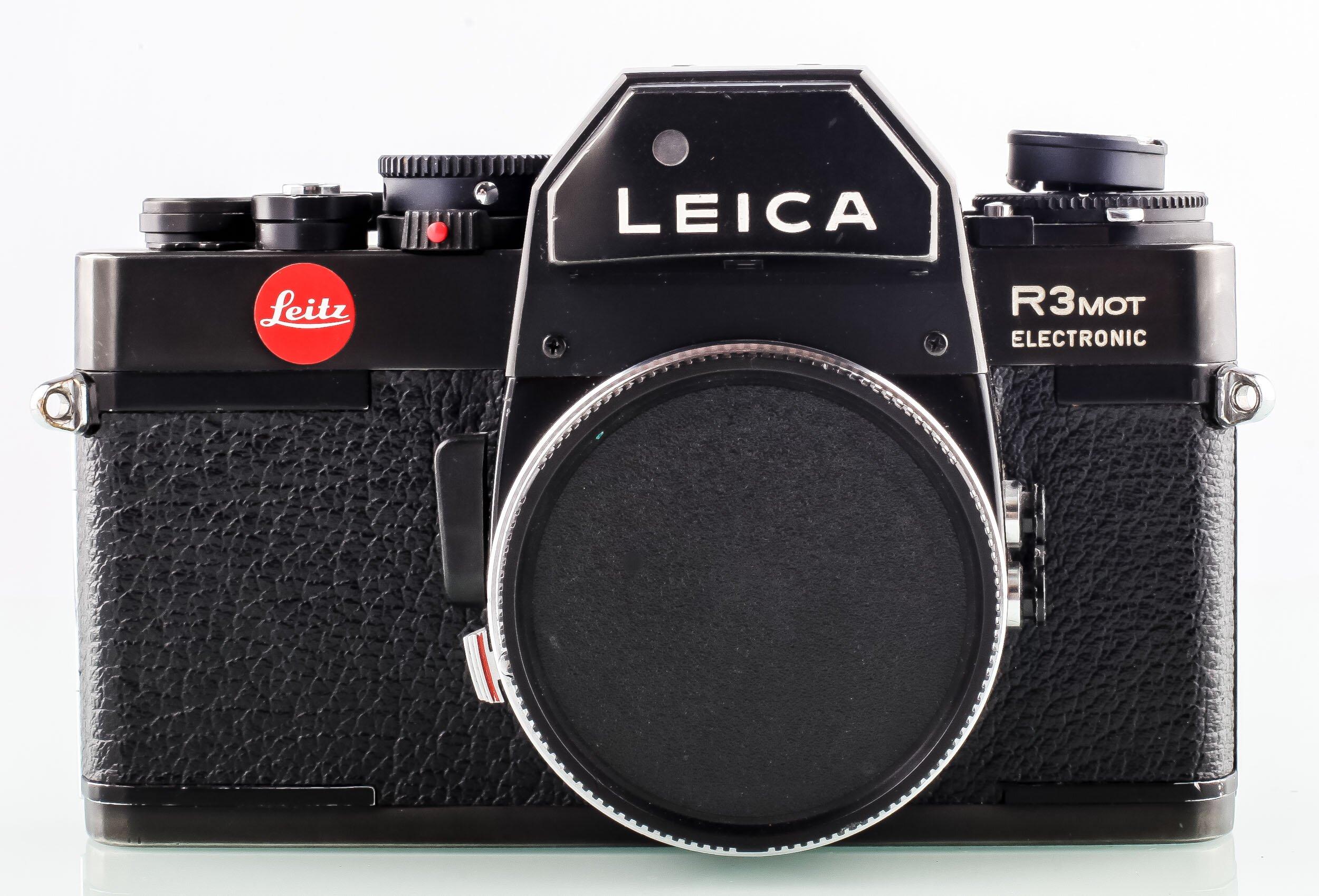 Leica R3 Mot Electronik schwarz