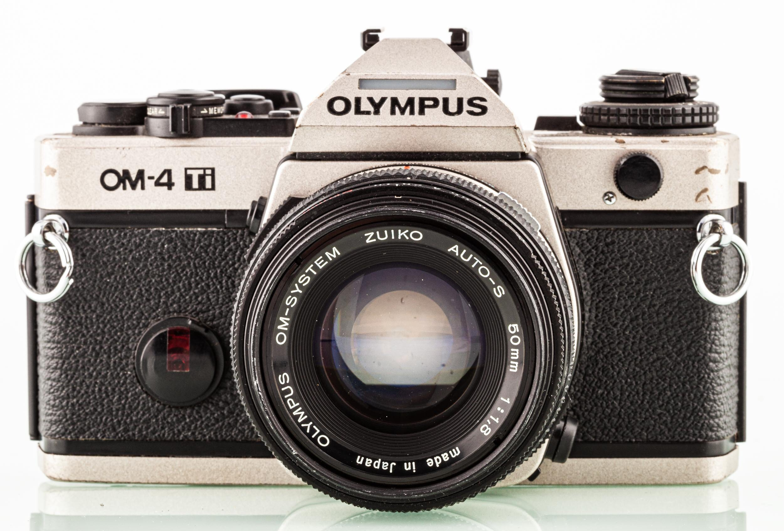 Olympus OM-4 Ti + Olympus 1,8/50mm
