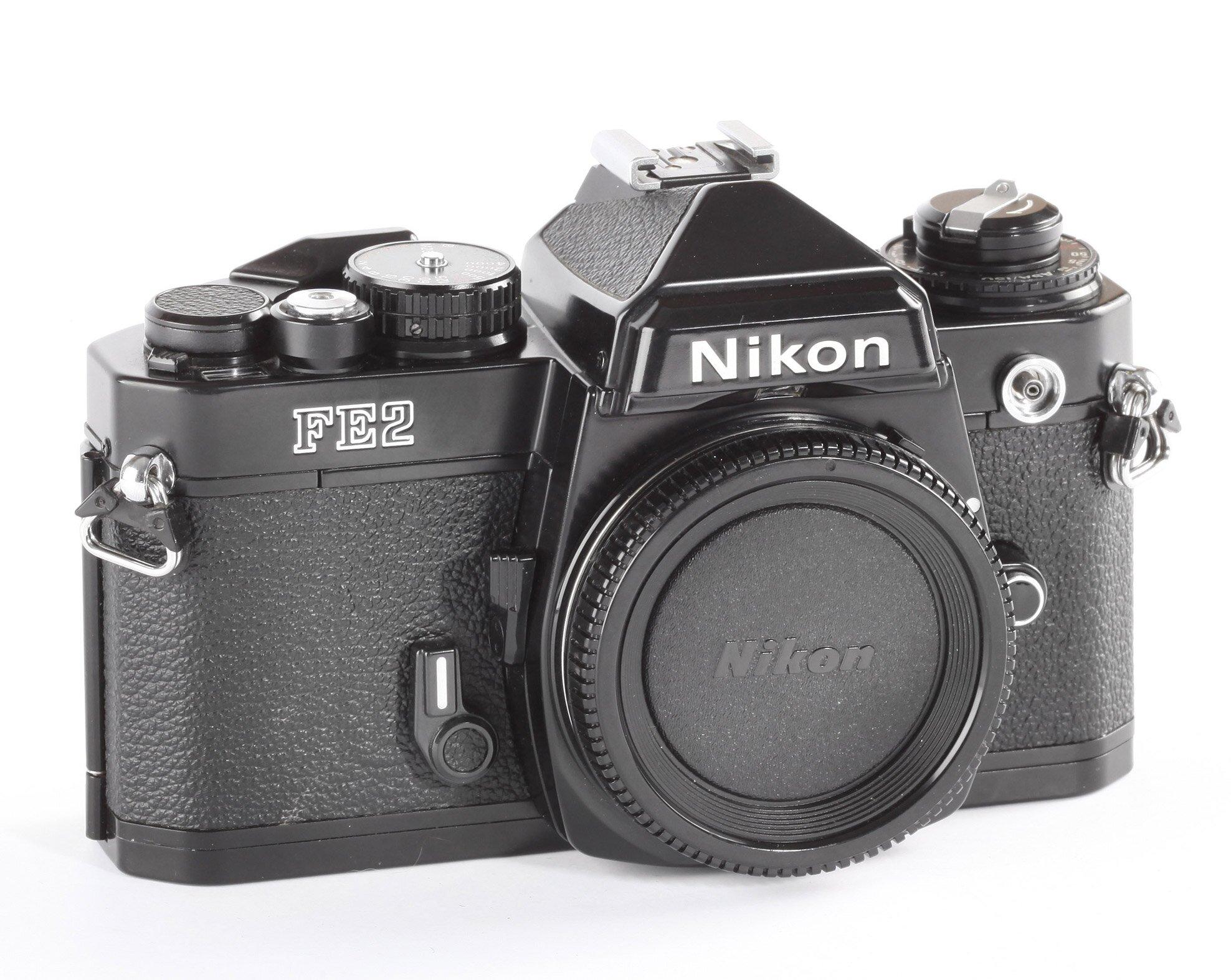 Nikon FE2 schwarz