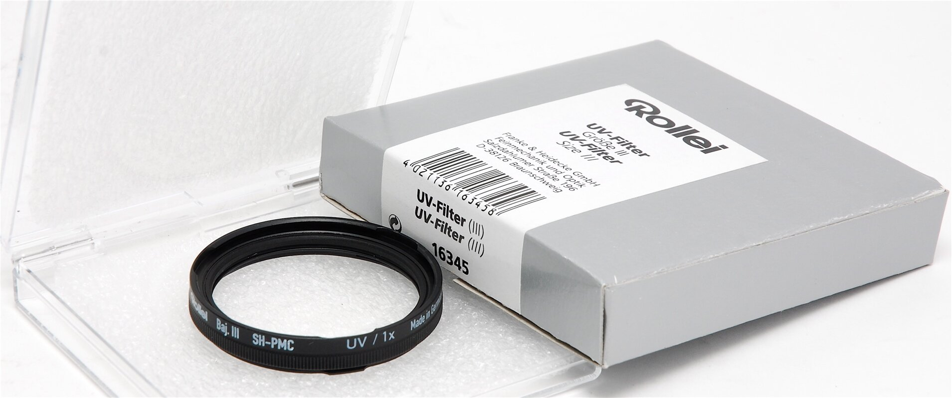 Rollei  B. III UV Filter Gr. III