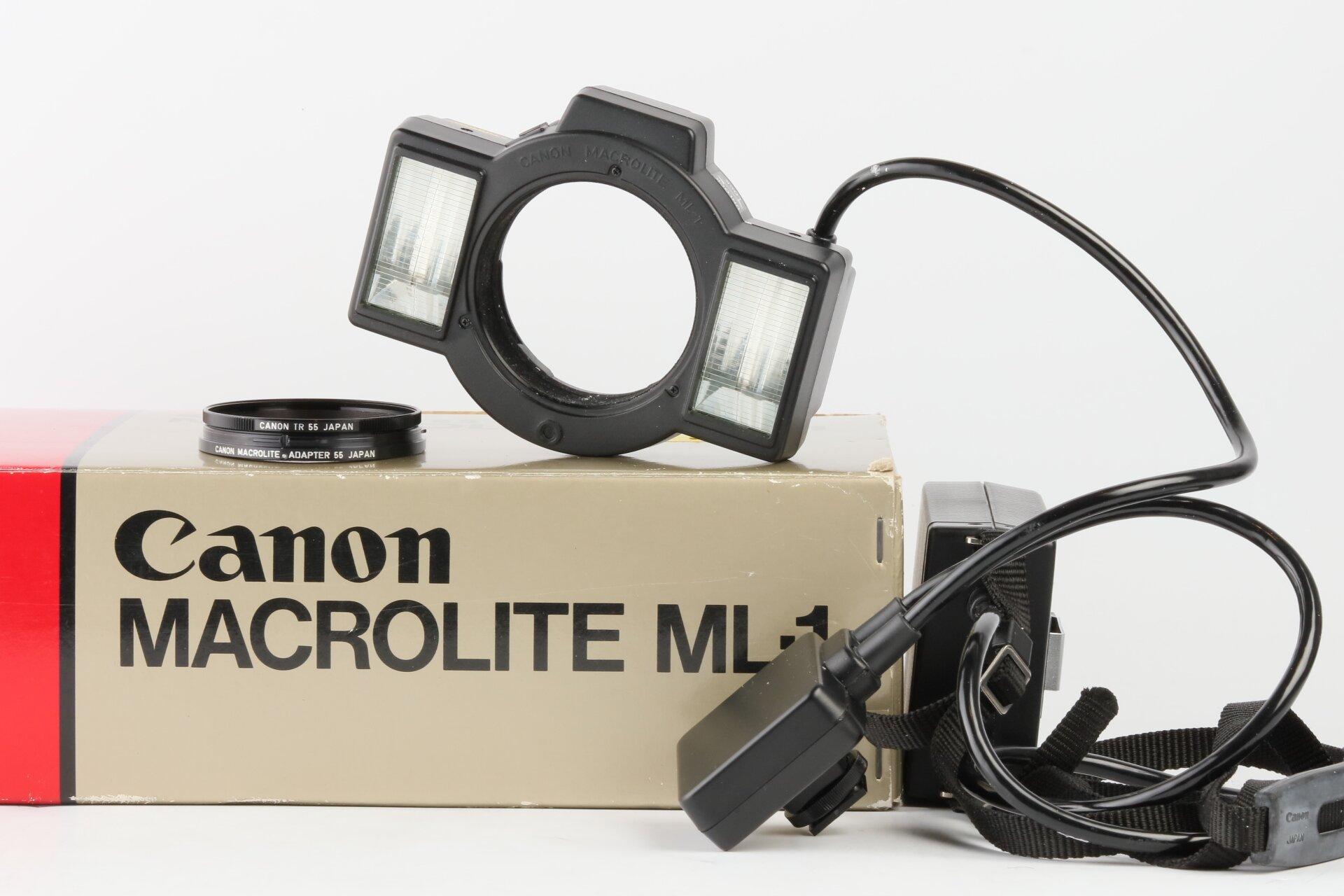 Canon Macrolite ML-1 Ringblitz