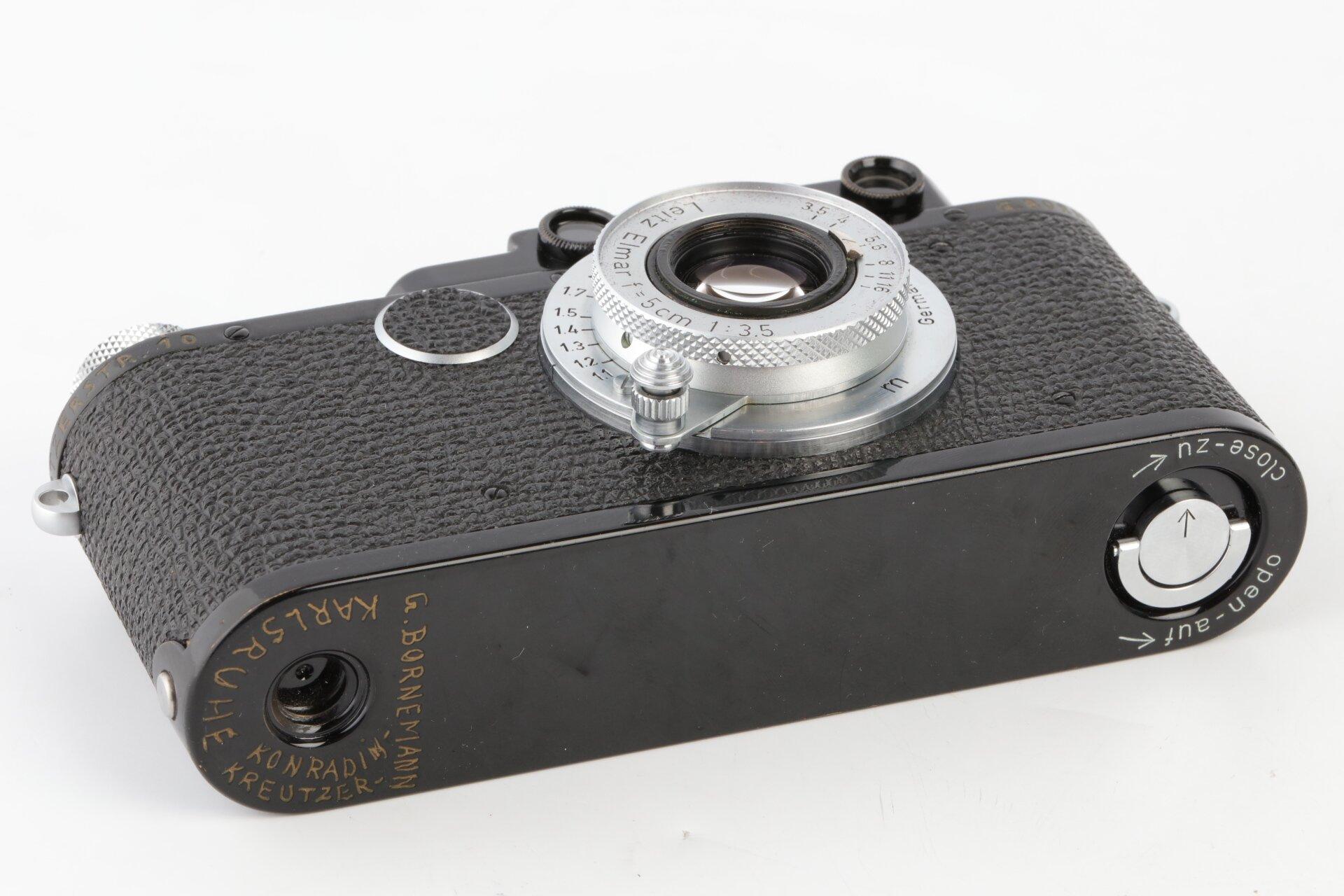 Leica II schwarz Elmar 3,5/5cm