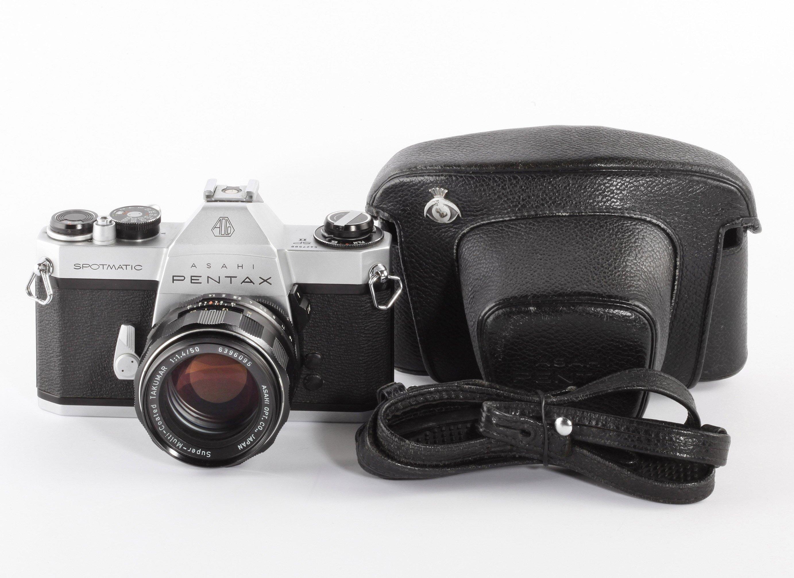 Pentax Spotmatik SPII + Super-Multi-Coated Takumar 1,4/50mm