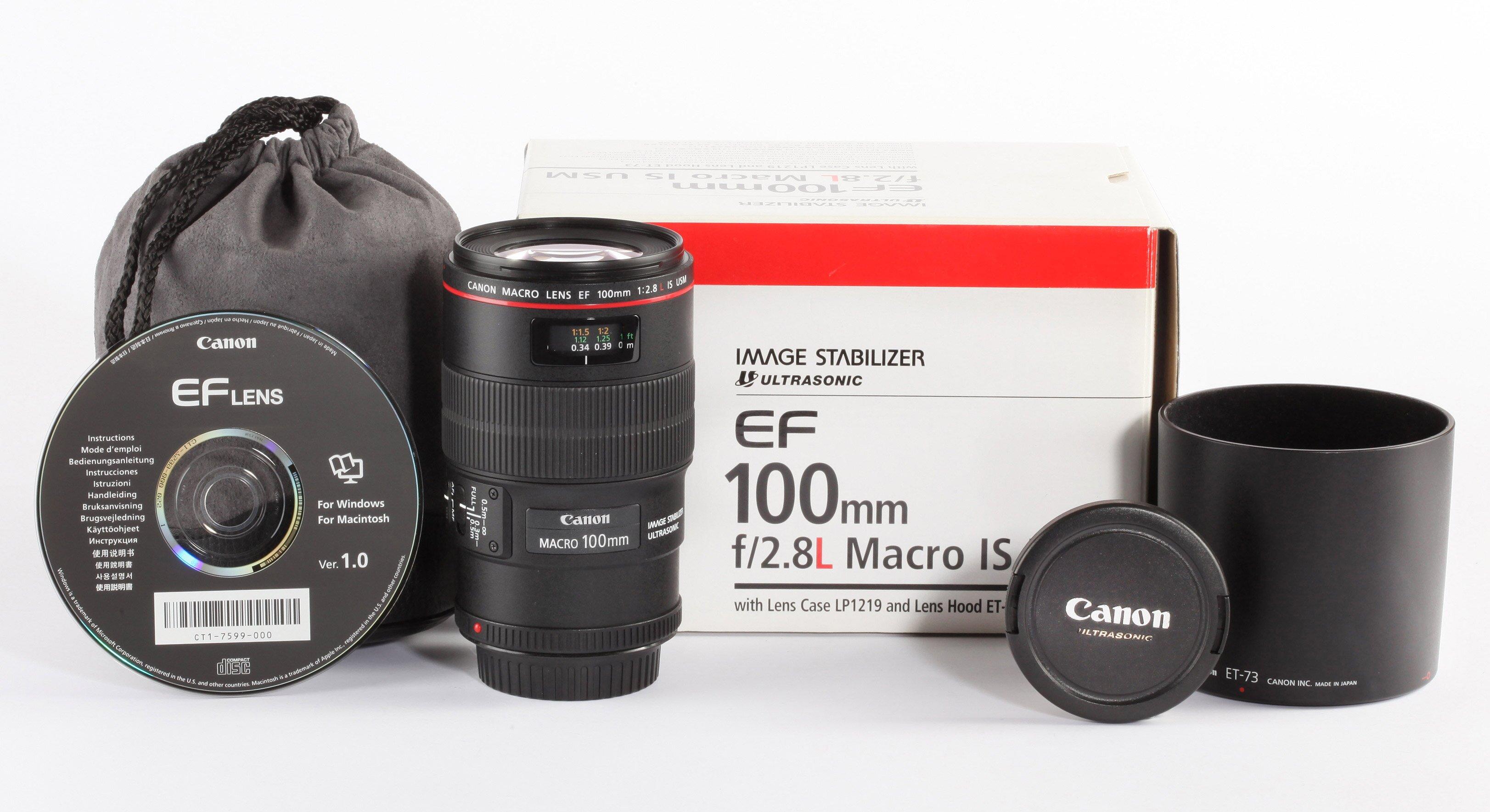 Canon EF 100mm 2,8L Macro IS USM