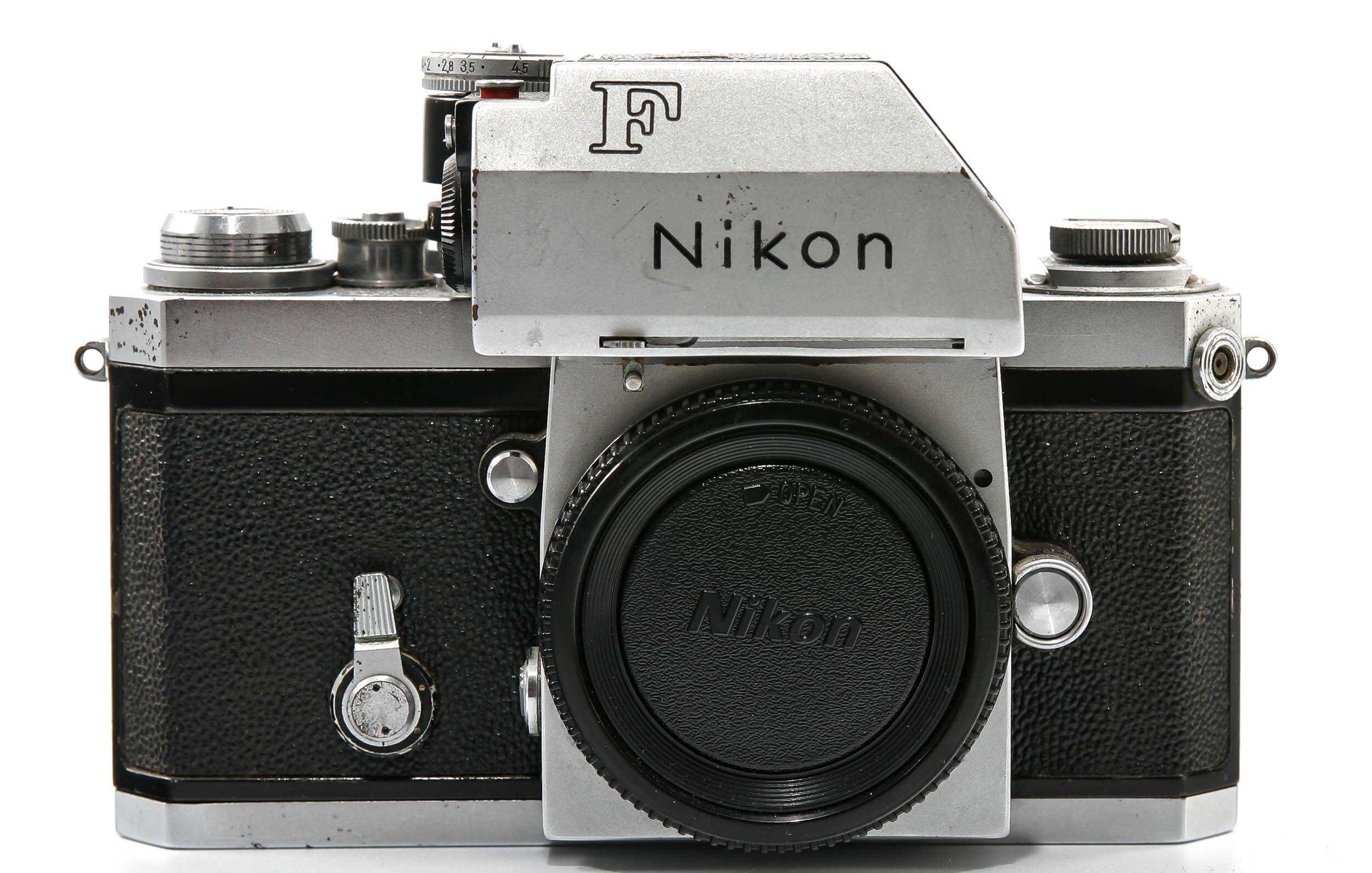 Nikon F Body Chrome