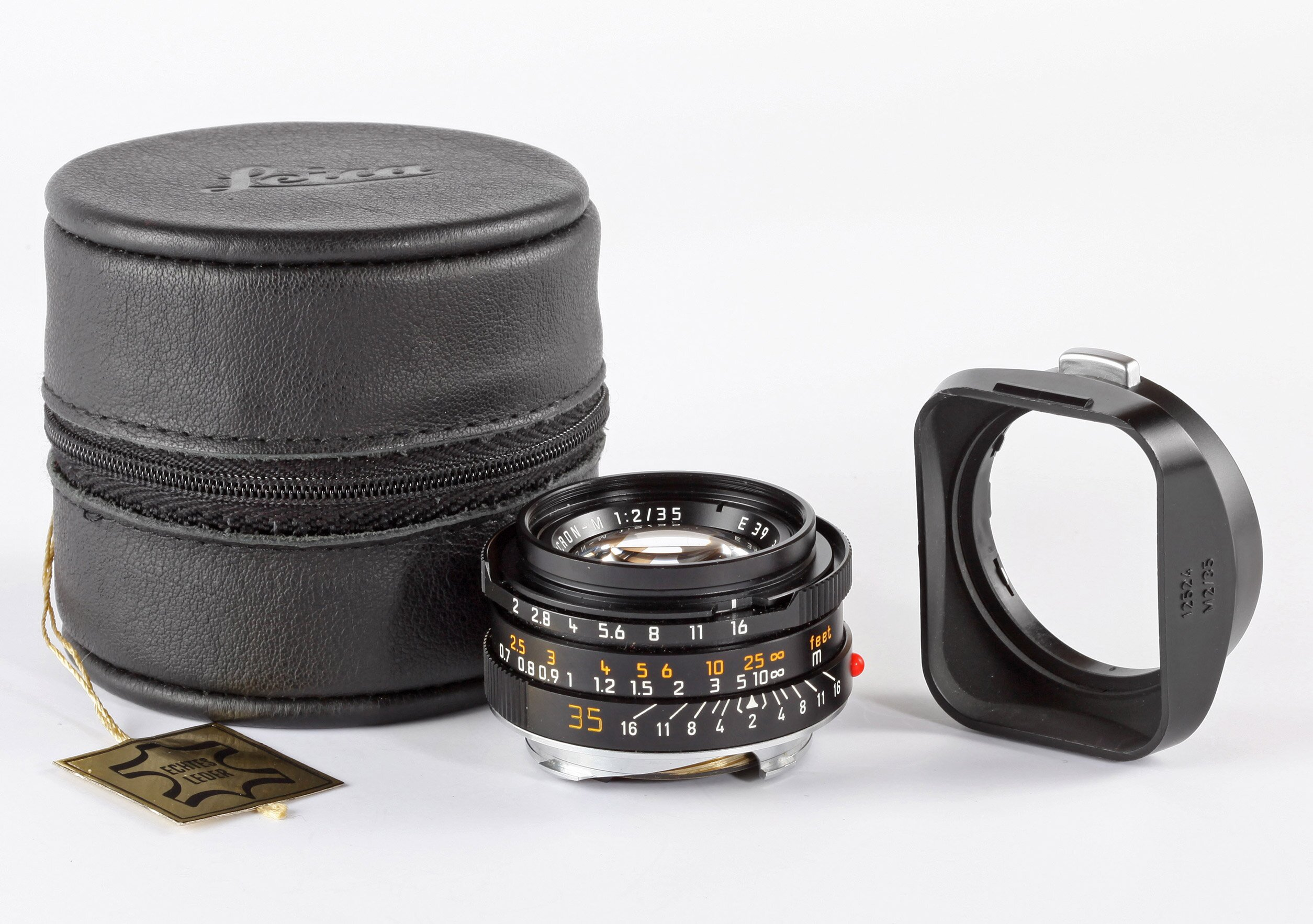 Leica M 35mm 2 Summicron-M E39 Germany