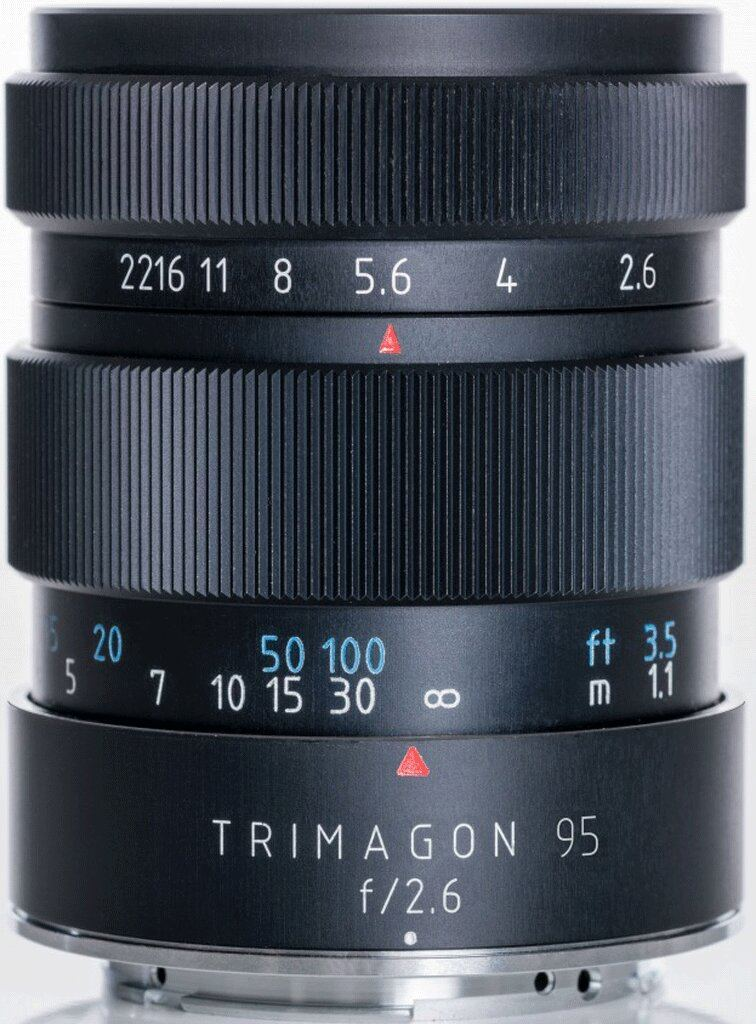 Meyer Optik Görlitz Trimagon 95mm 1:2,6 für Nikon F