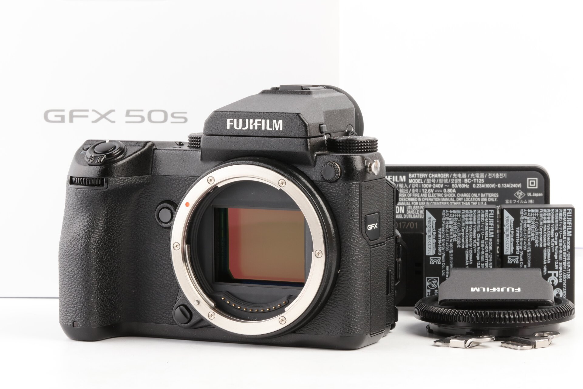 Fujifilm GFX 50S Gehäuse 700 Auslösungen