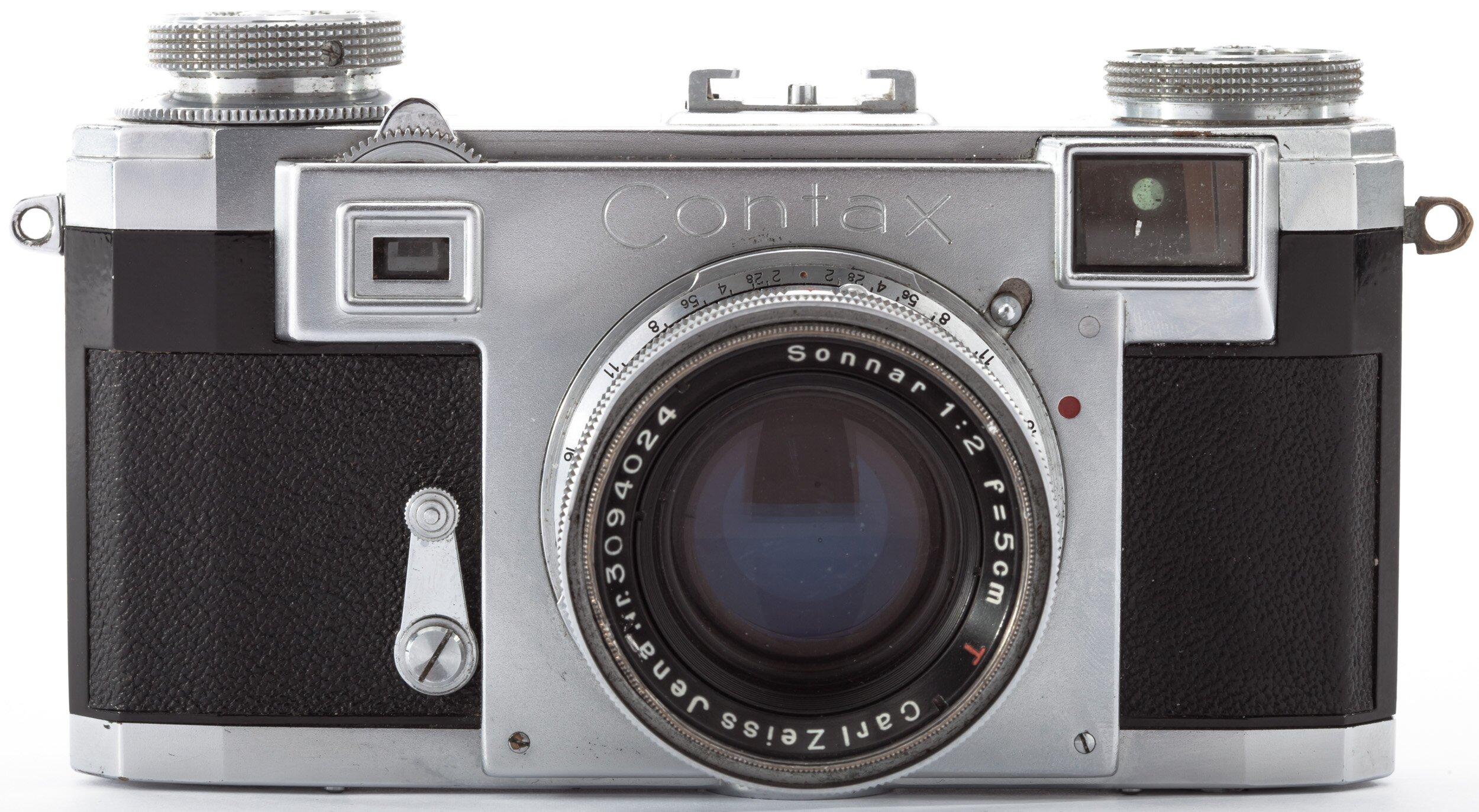 Contax IIa mit 5cm 2 Carl Zeiss Sonnar T