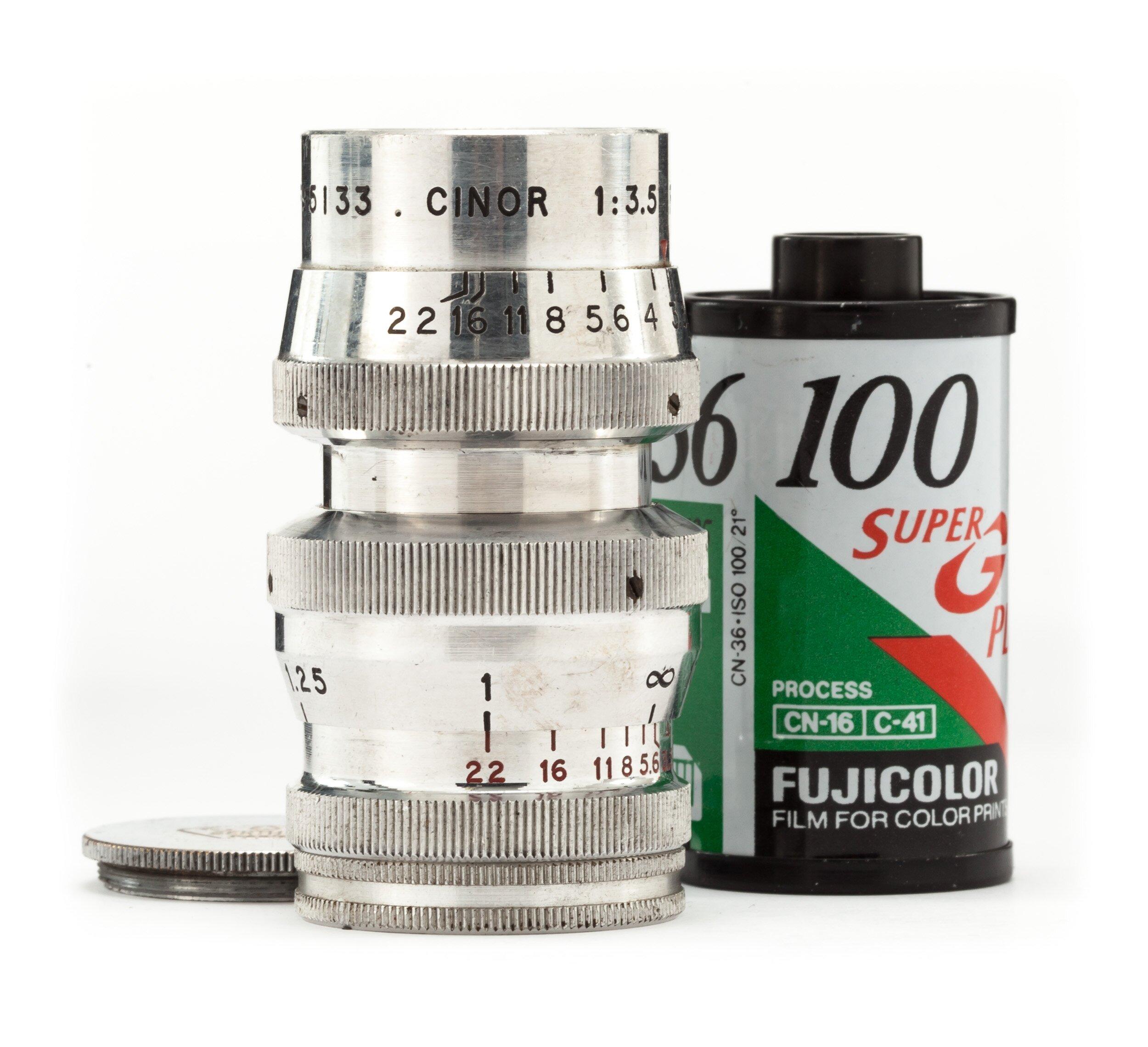 SOM Berthiot Paris 3,5/50mm Cinor