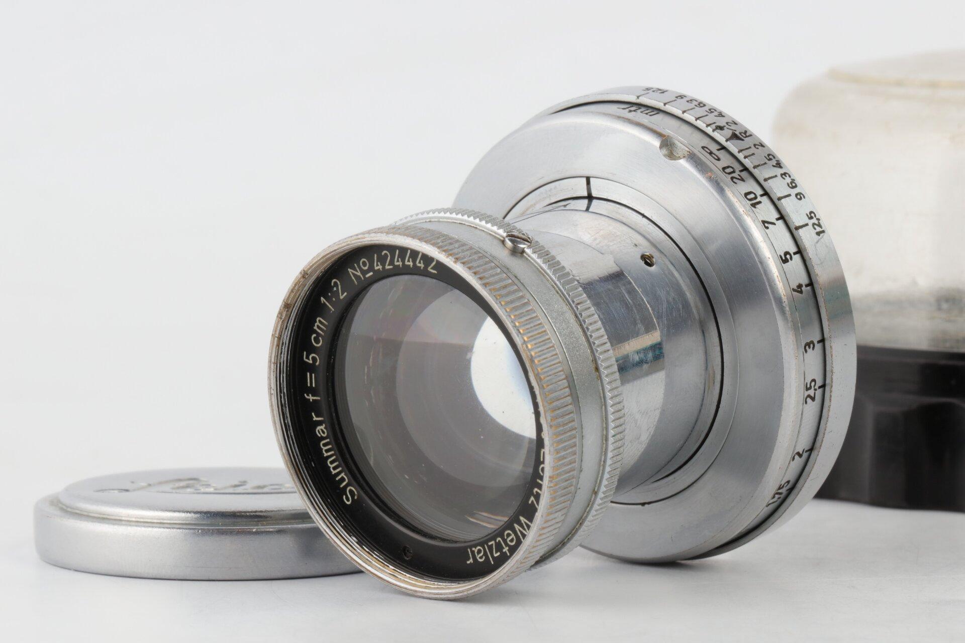 Leica Summar 5cm 2 M39