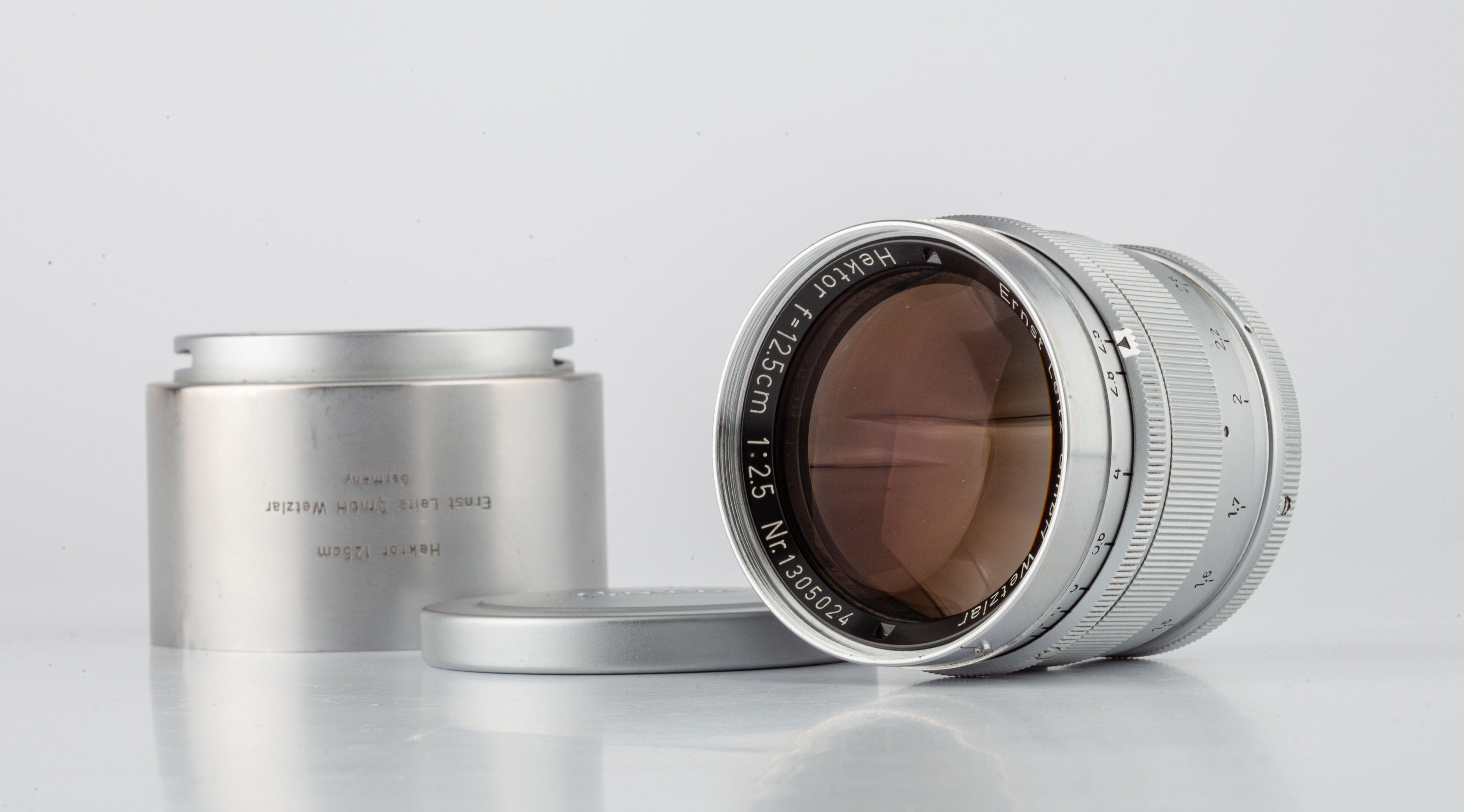 Leica Hektor 12.5cm F2.5 M39