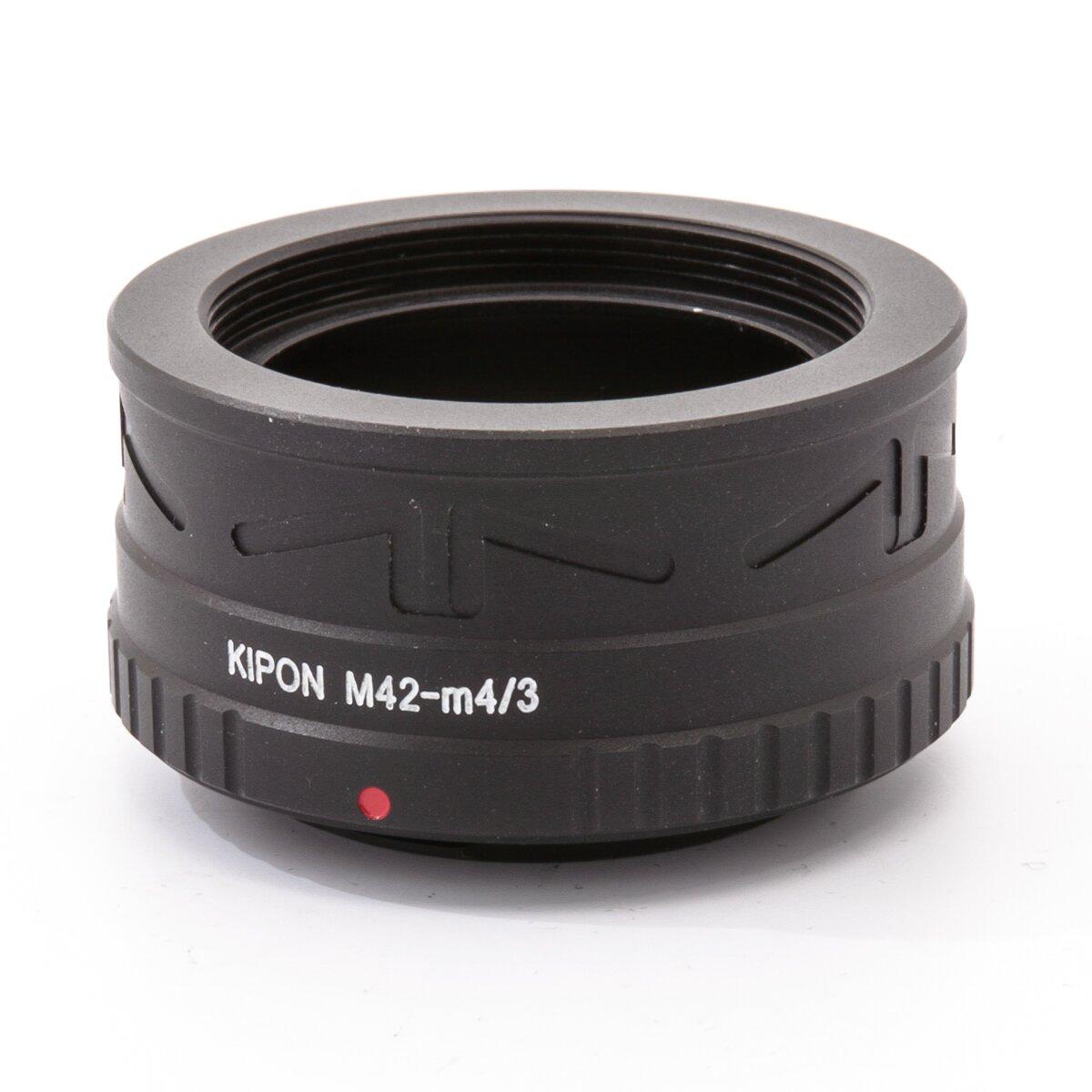 Adapter M42 Objektive an Micro Fourthirds Gehäuse