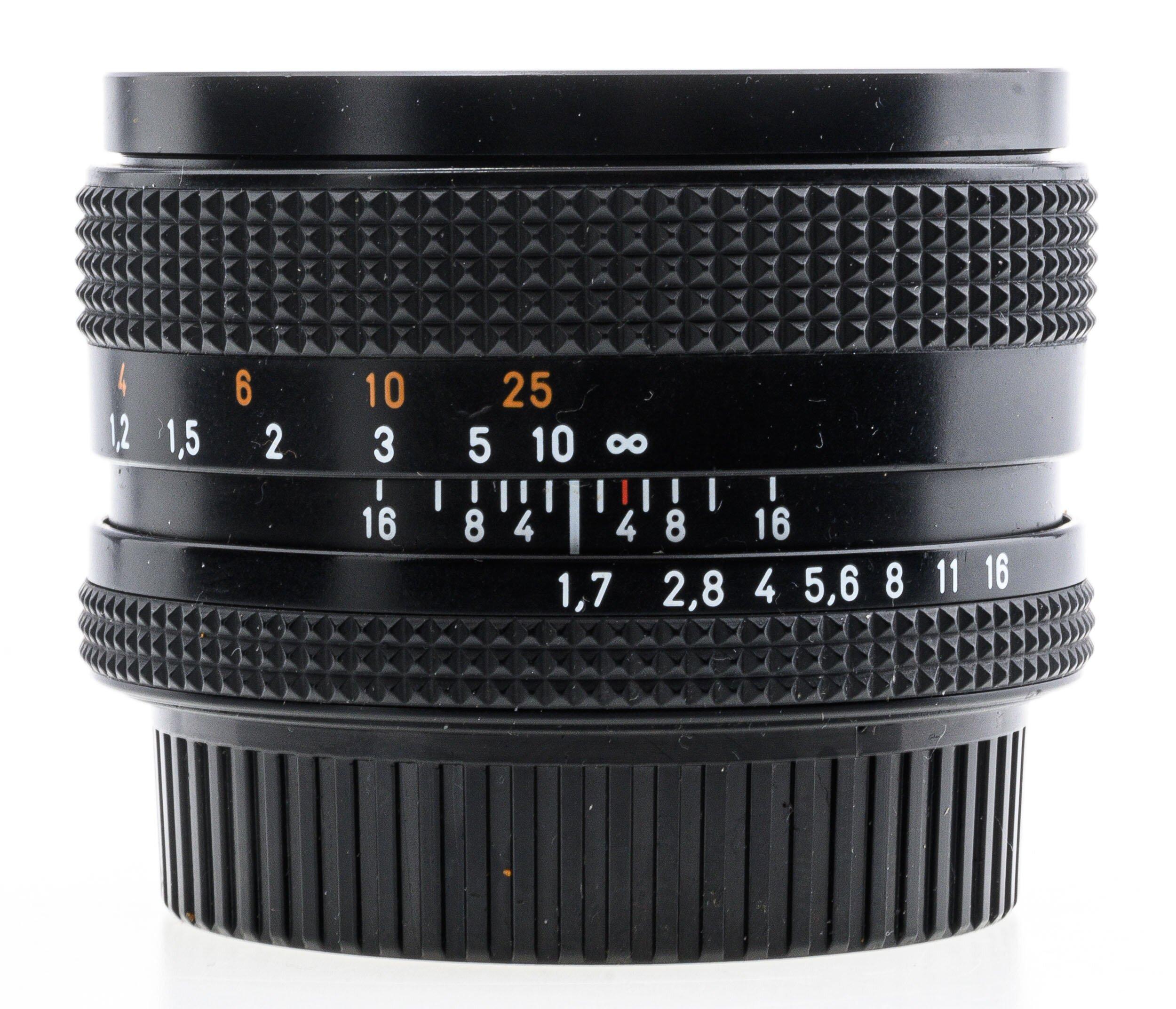 Contax Planar 1,7/50mm