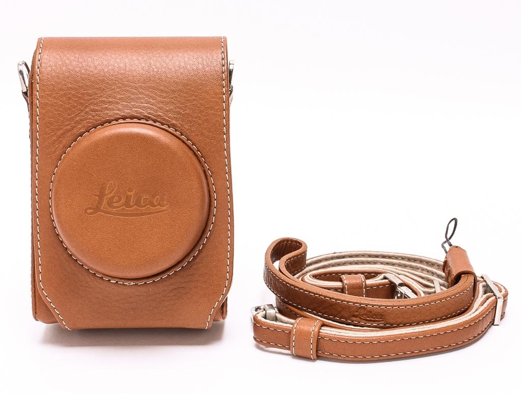 Leica Ledertasche für D-Lux 6 cognac 18727
