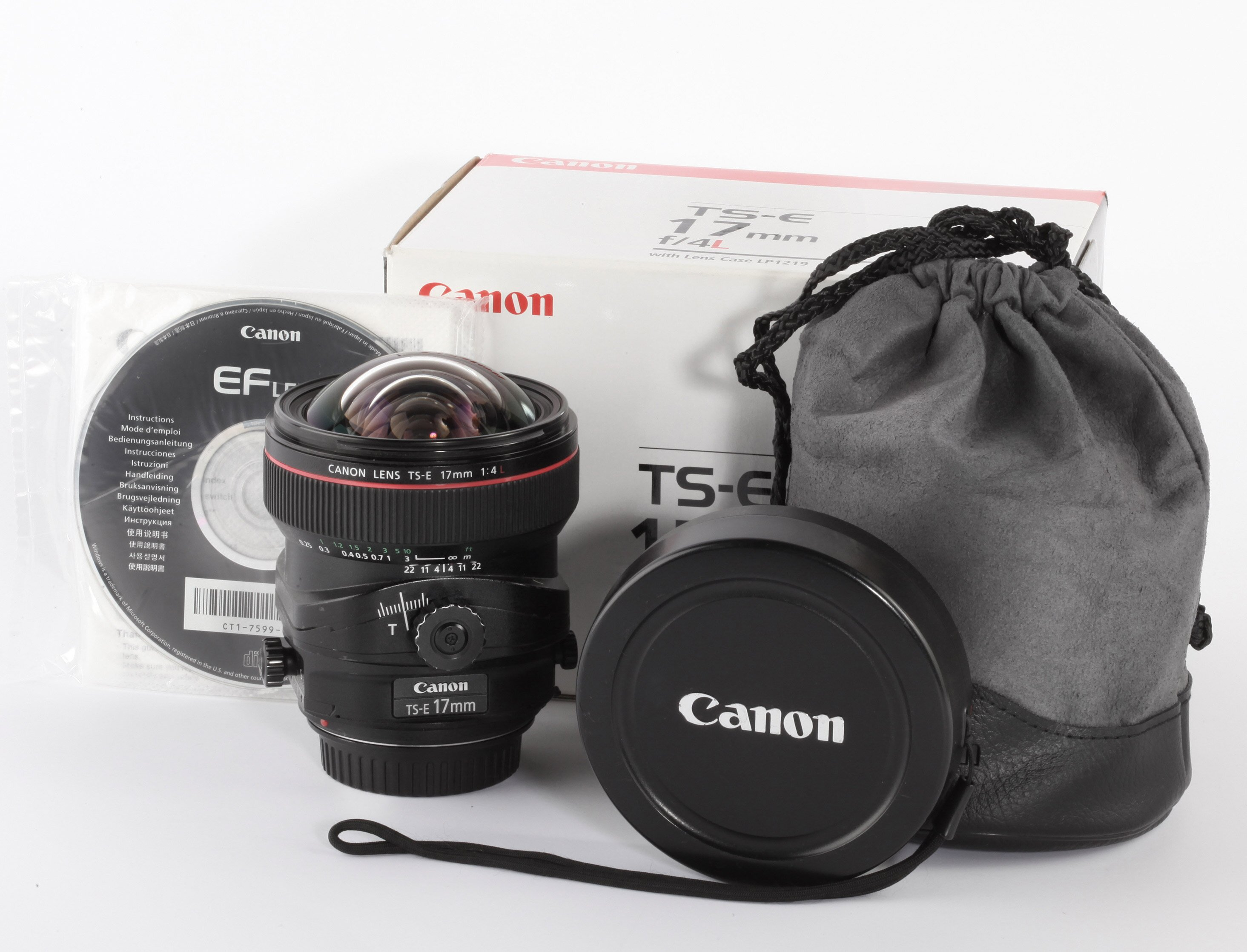 Canon TS-E 17mm 4 L