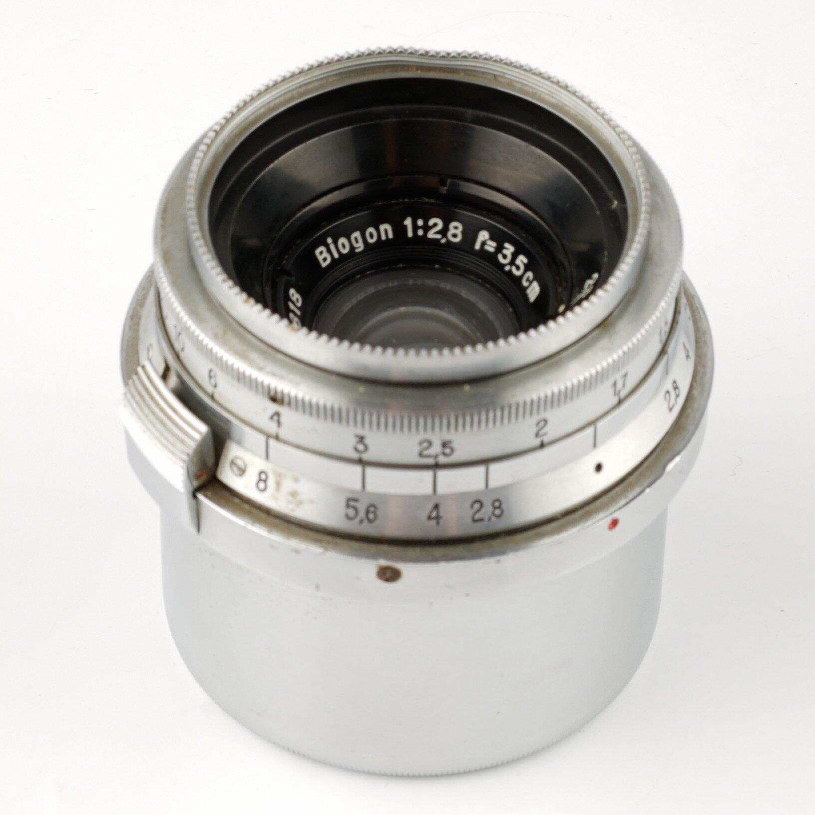 Carl Zeiss Biogon 2,8/3,5cm Contax RF