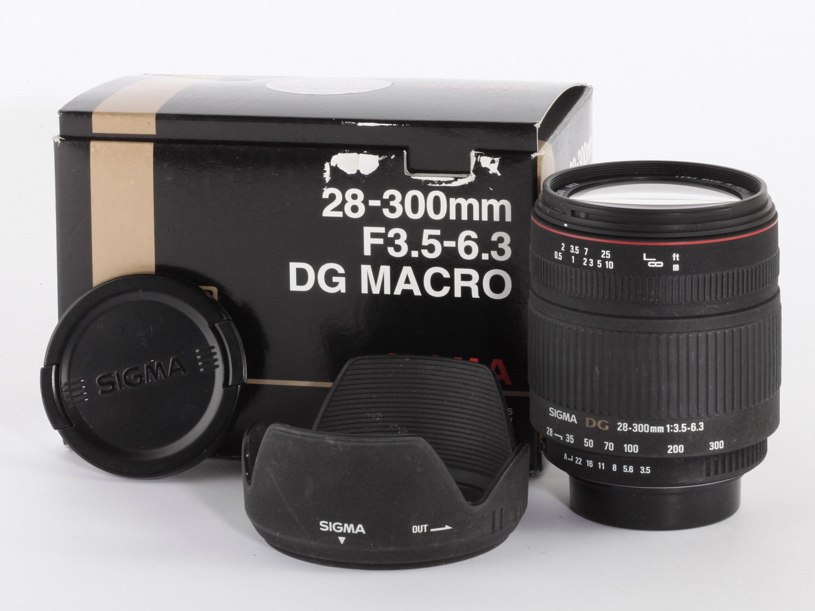 Sigma DG 28-300mm 3,5-6,3 f.Pentax