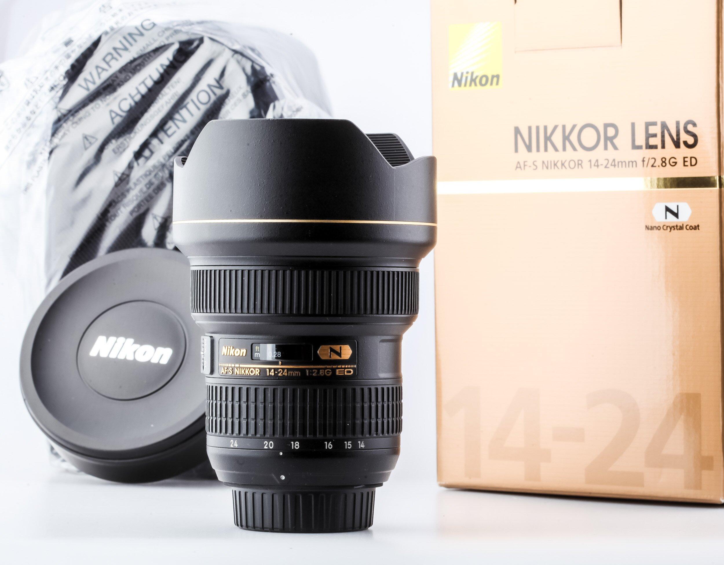 Nikon AF-S 2,8/14-24mm G ED