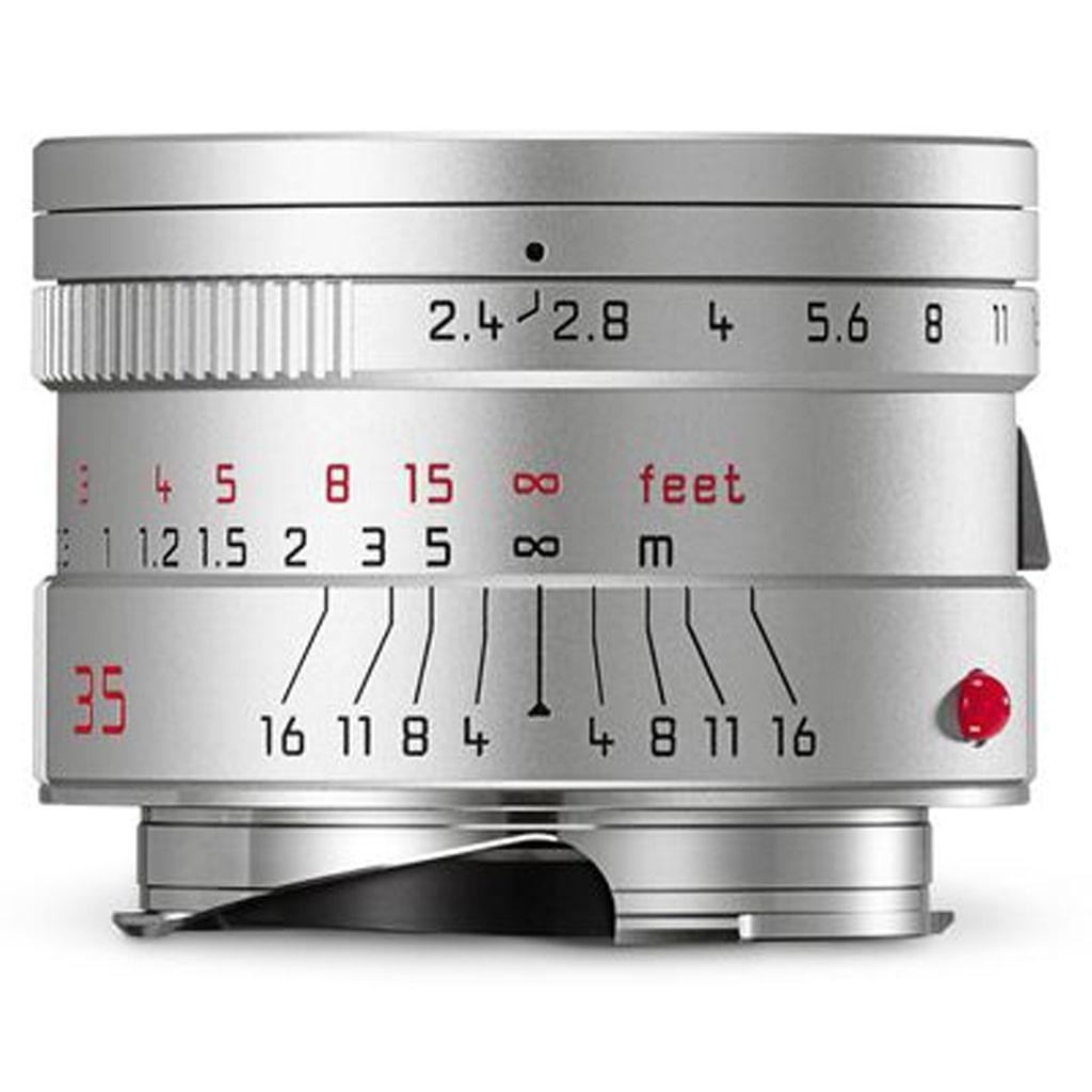 LEICA SUMMARIT-M 2.4/35 mm ASPH., silbern eloxiert 11679