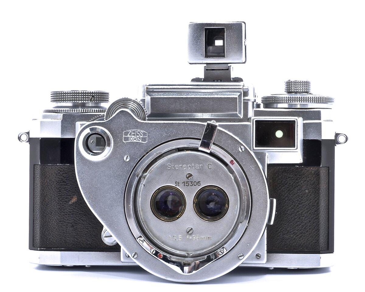 Contax IIIa Stereotar C 3,5/35mm mit Sucher