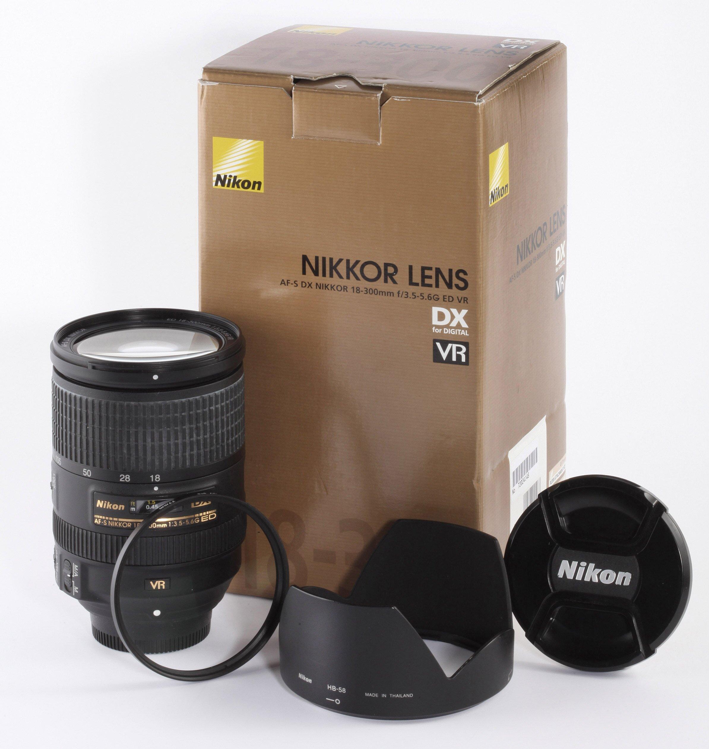 Nikon AF-S Nikkor 18-300mm 3,5-5,6G ED