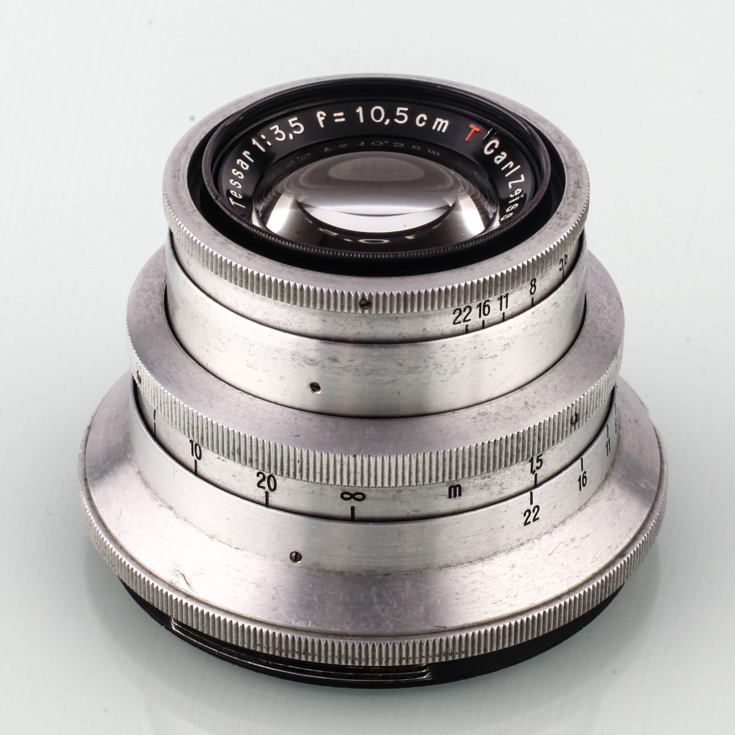 Carl Zeiss Tessar 3,5/10,5cm T Primarflex