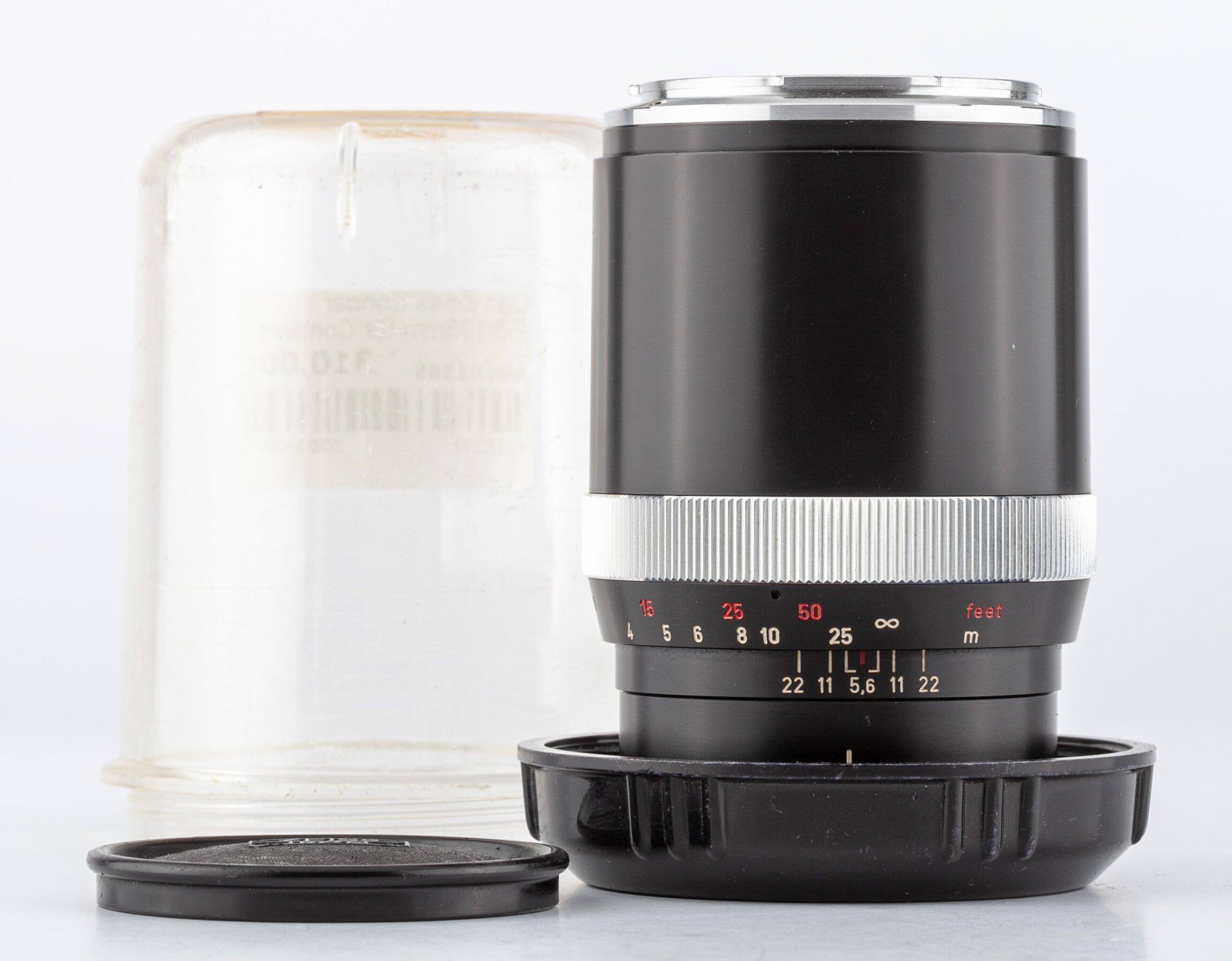 Carl Zeiss Sonnar 2,8/135mm für Contarex