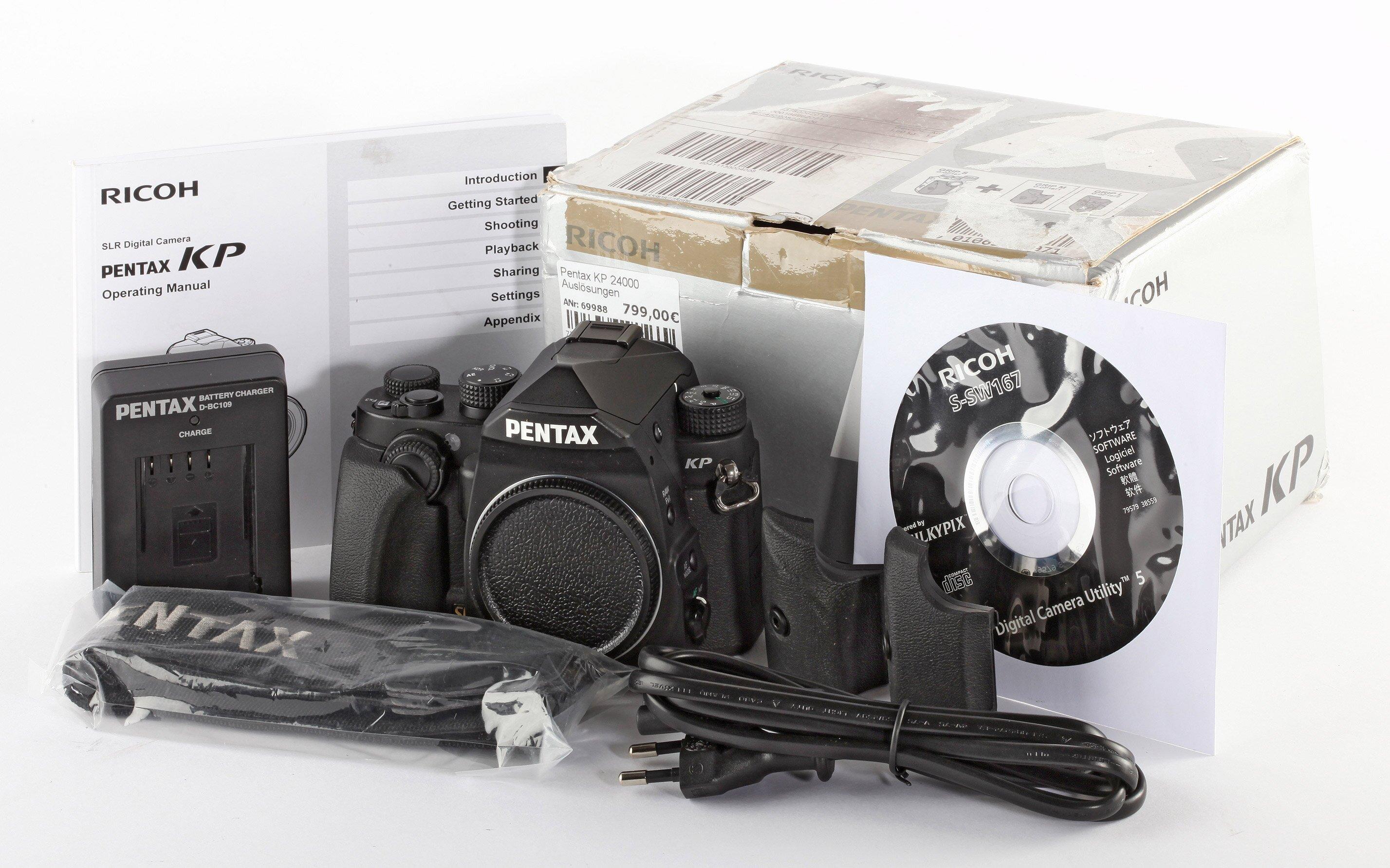 Pentax KP 24000 Auslösungen