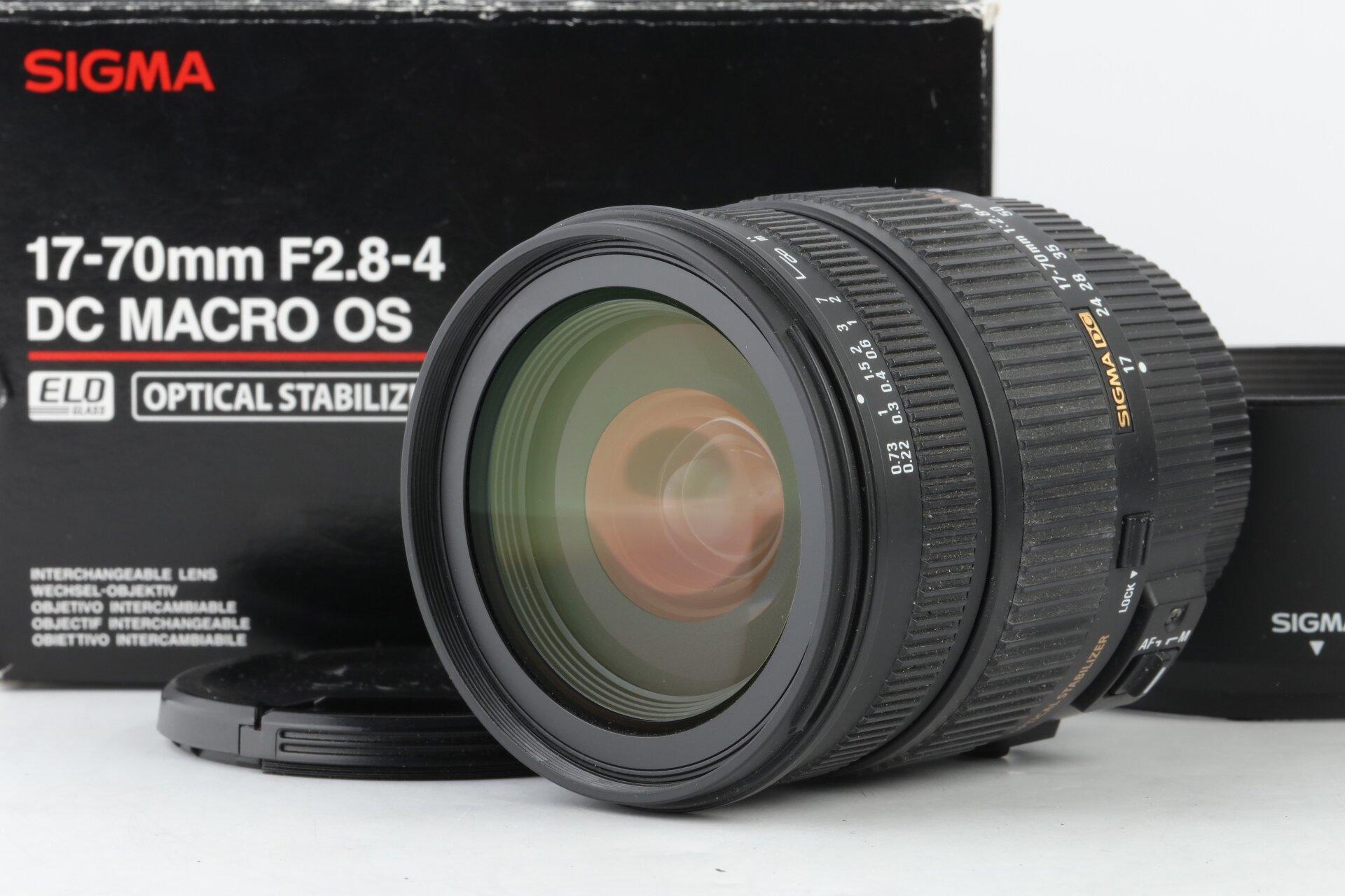 Sigma DC 17-70mm 2,8-4 DC Macro HSM OS Pentax-K
