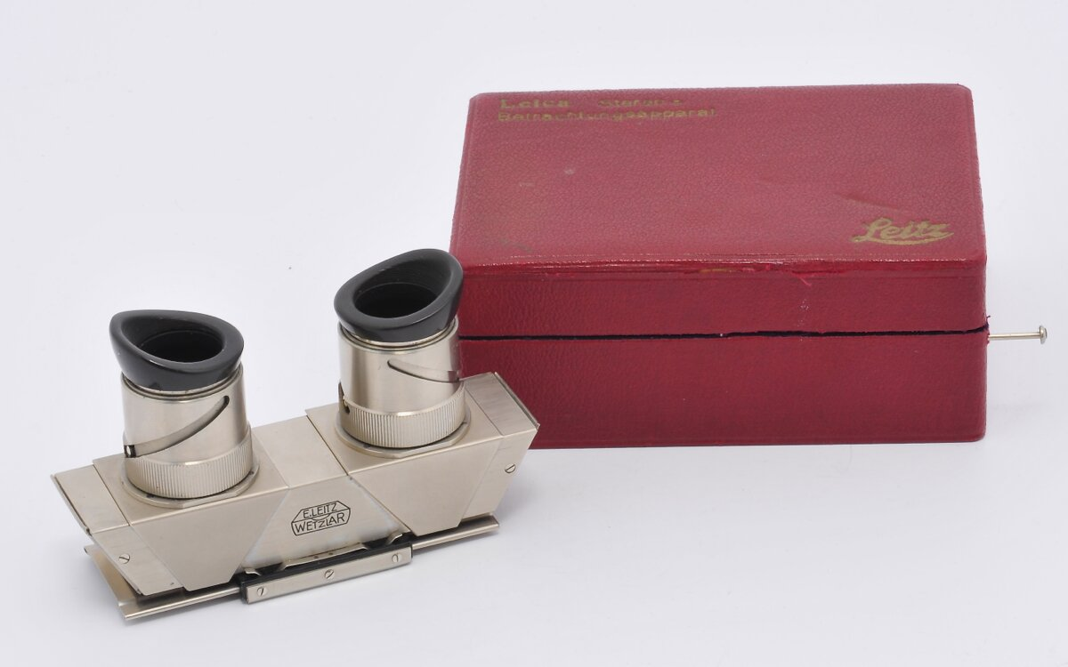 Leica Stereo-Betrachtungsapparat
