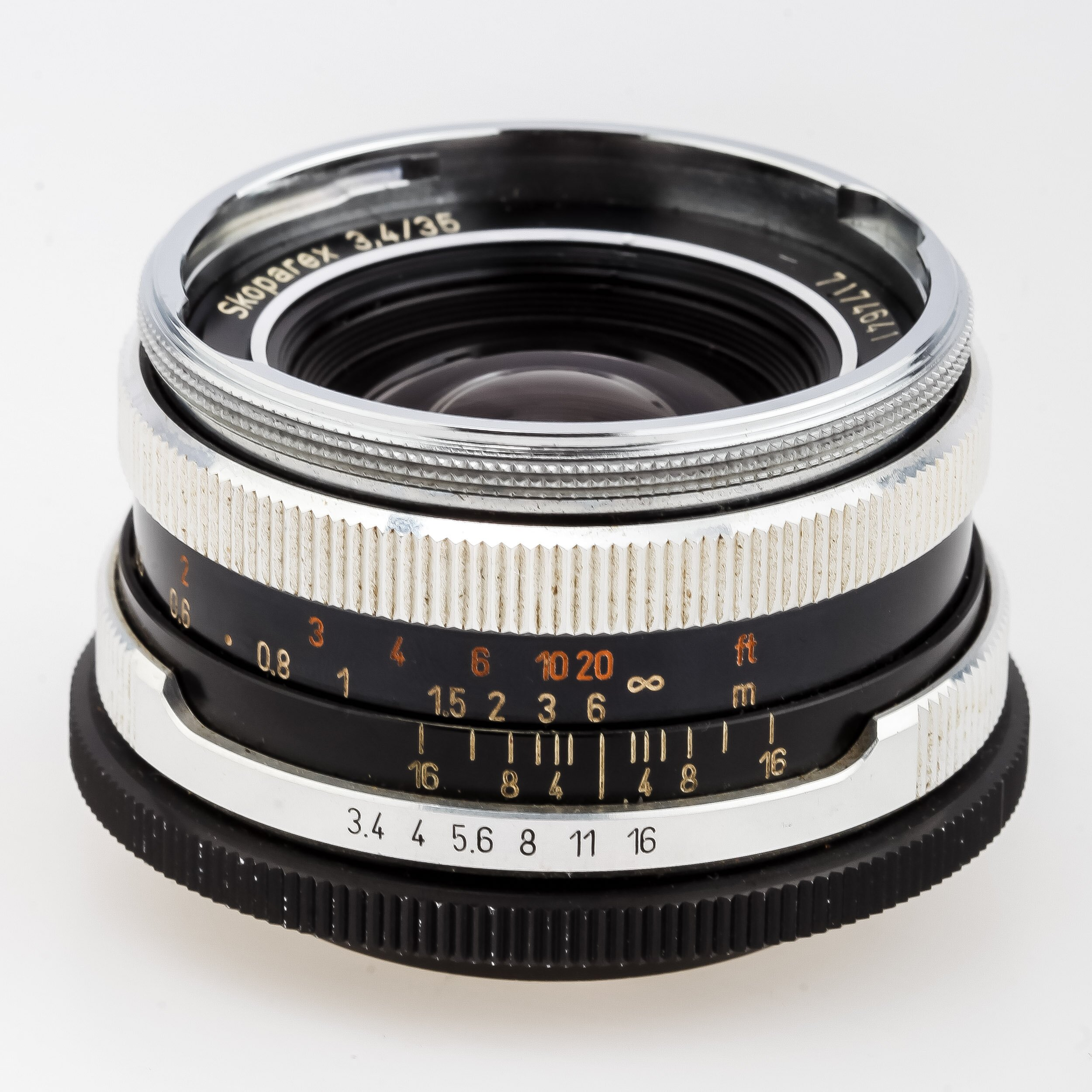 Carl Zeiss Skoparex 3,4/35 mm Icarex 35 BM
