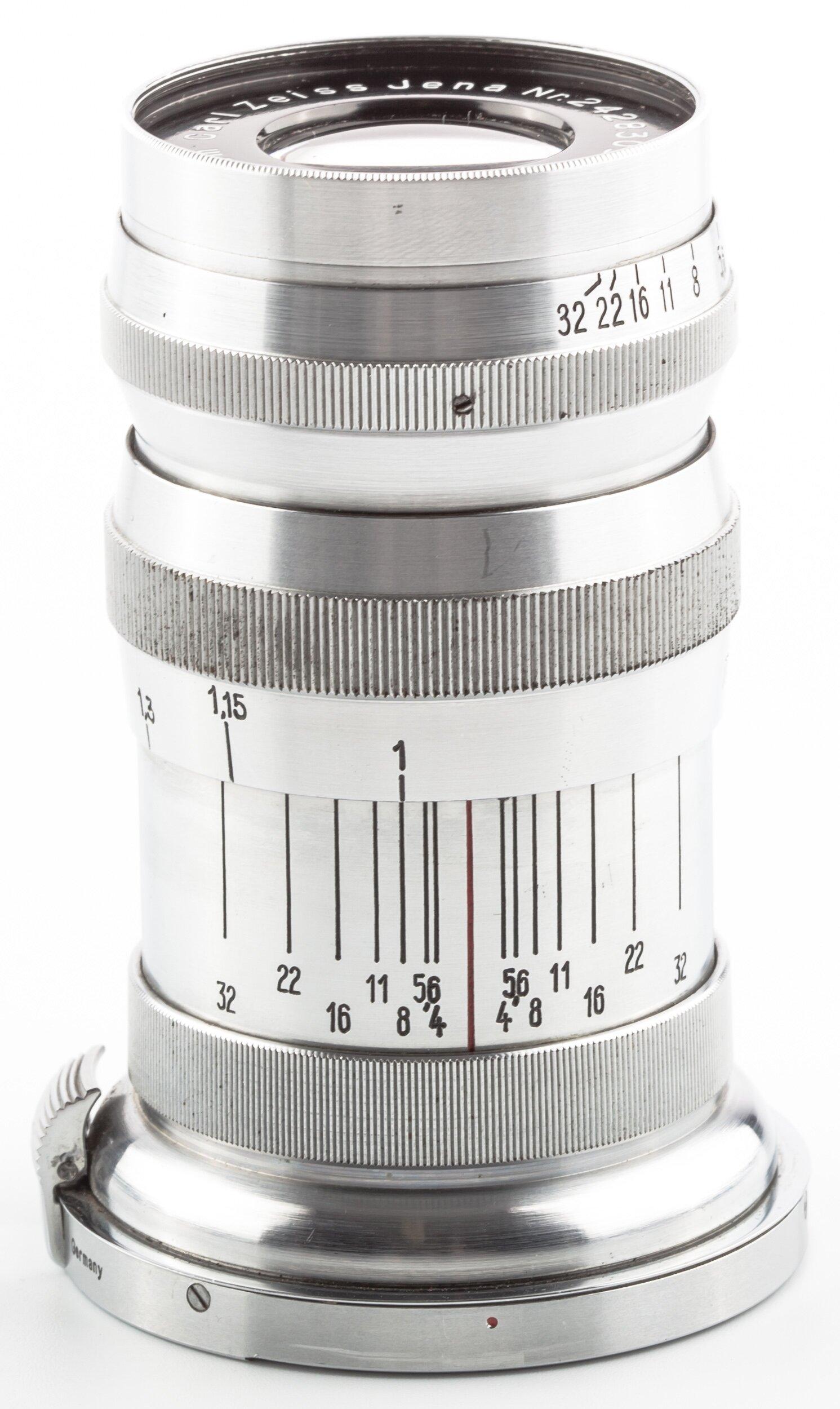 Carl Zeiss Triotar 4/8,5cm f. Contax RF II/III