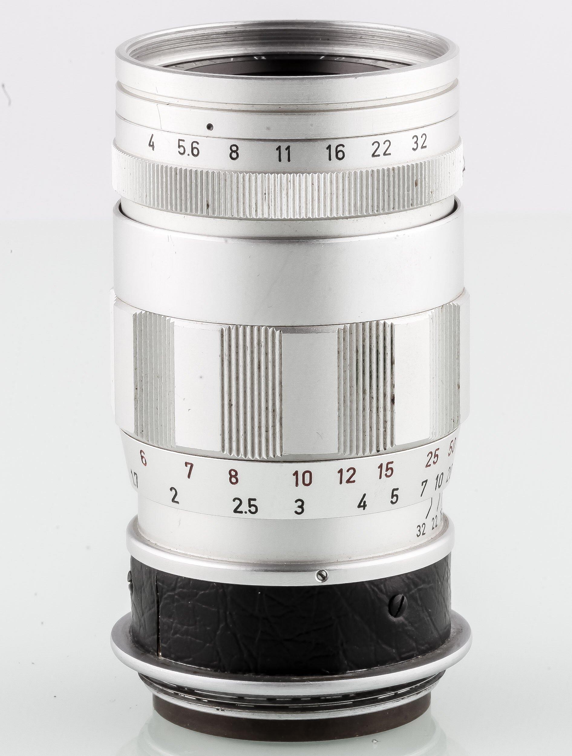 Leica Elmar 4/90mm 3-element
