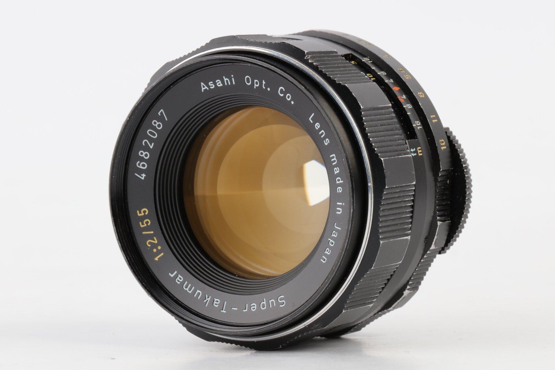 Pentax Super-Takumar 2/55mm M42