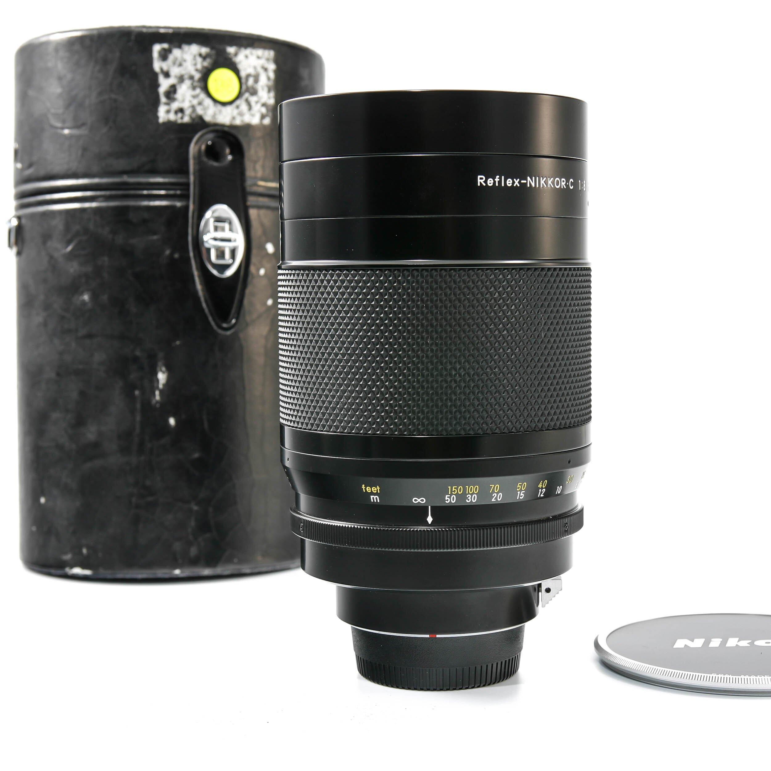 Nikon 500mm F8.0 Reflex Nikkor C