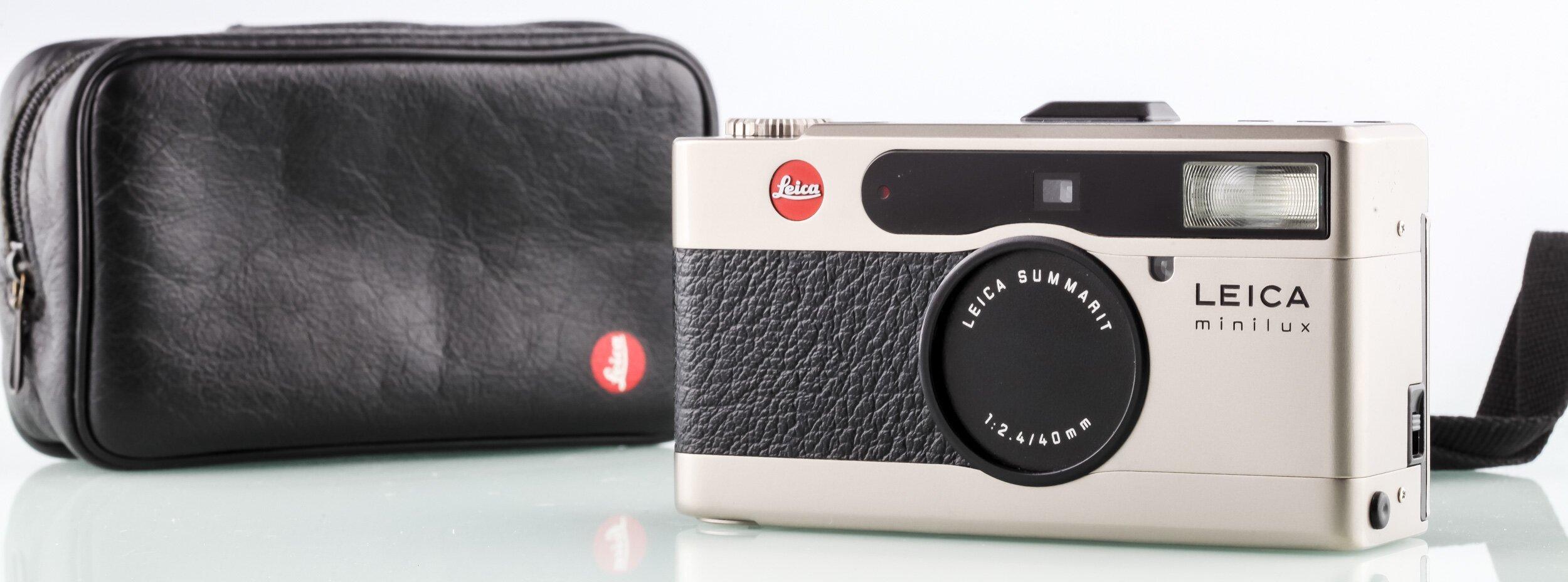 Leica Minilux 40mm F2.4 Leica Summarit original Kameratasche