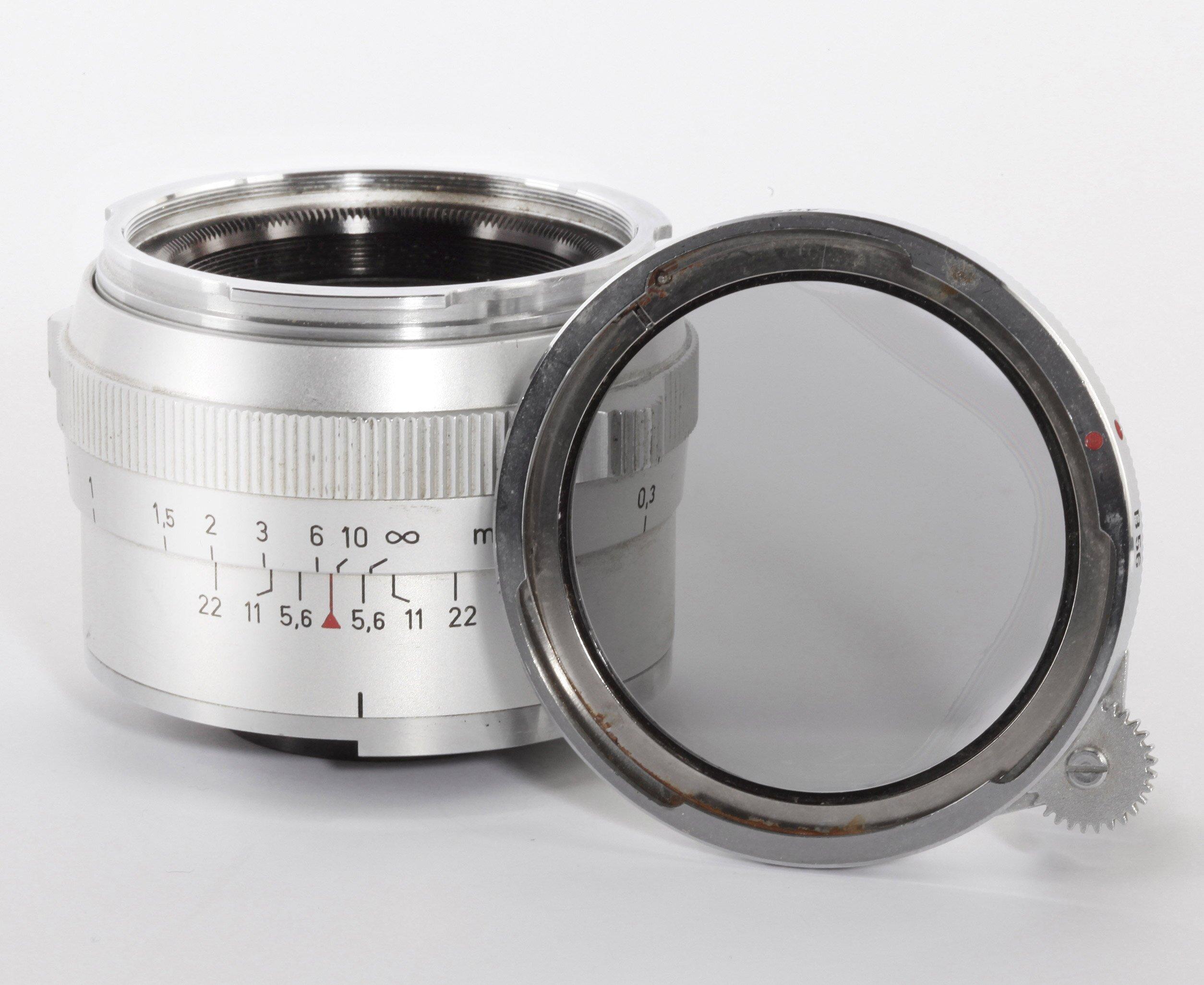 Carl Zeiss Planar 2/50mm f.Contarex