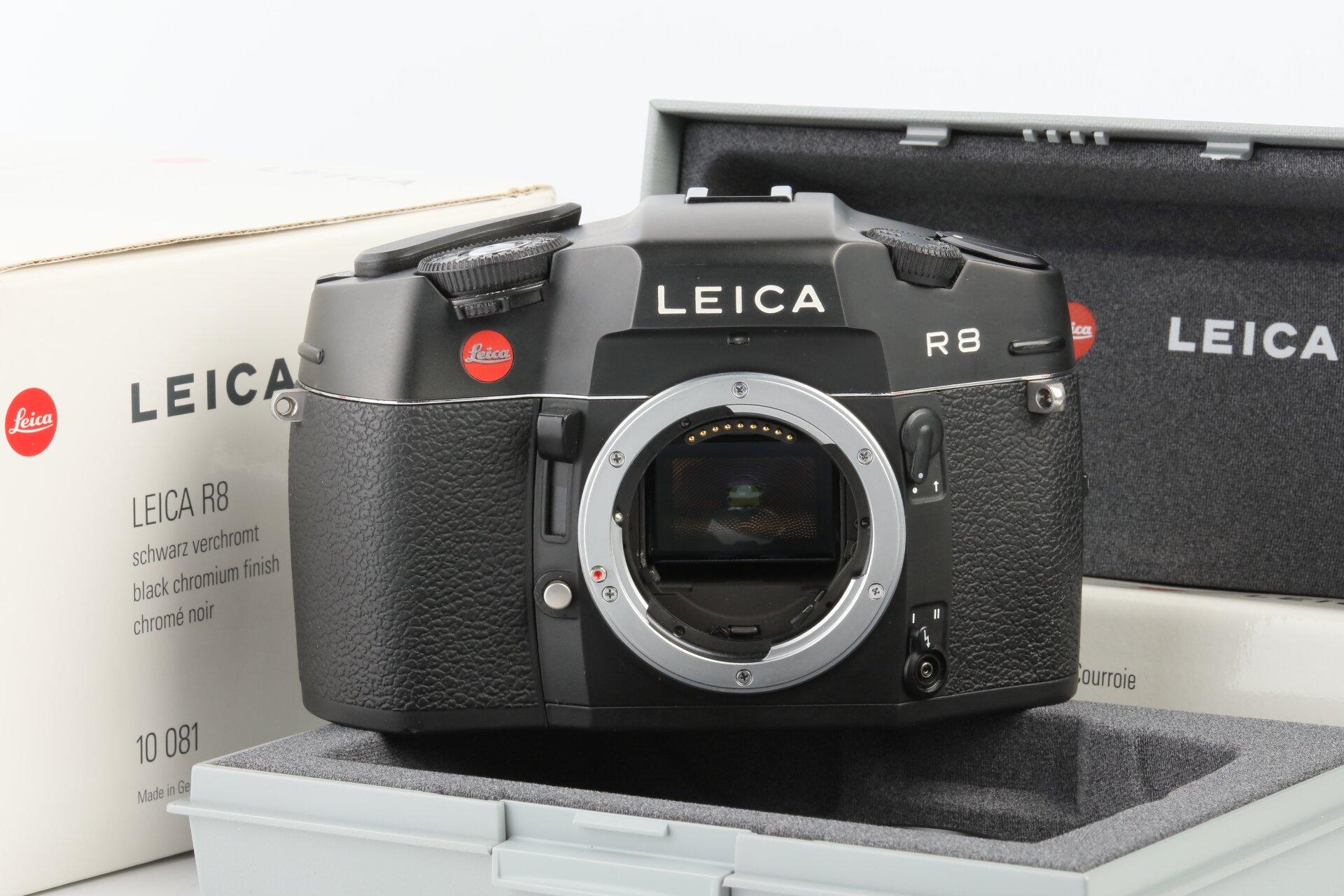 Leica R8 Gehäuse schwarz 10081