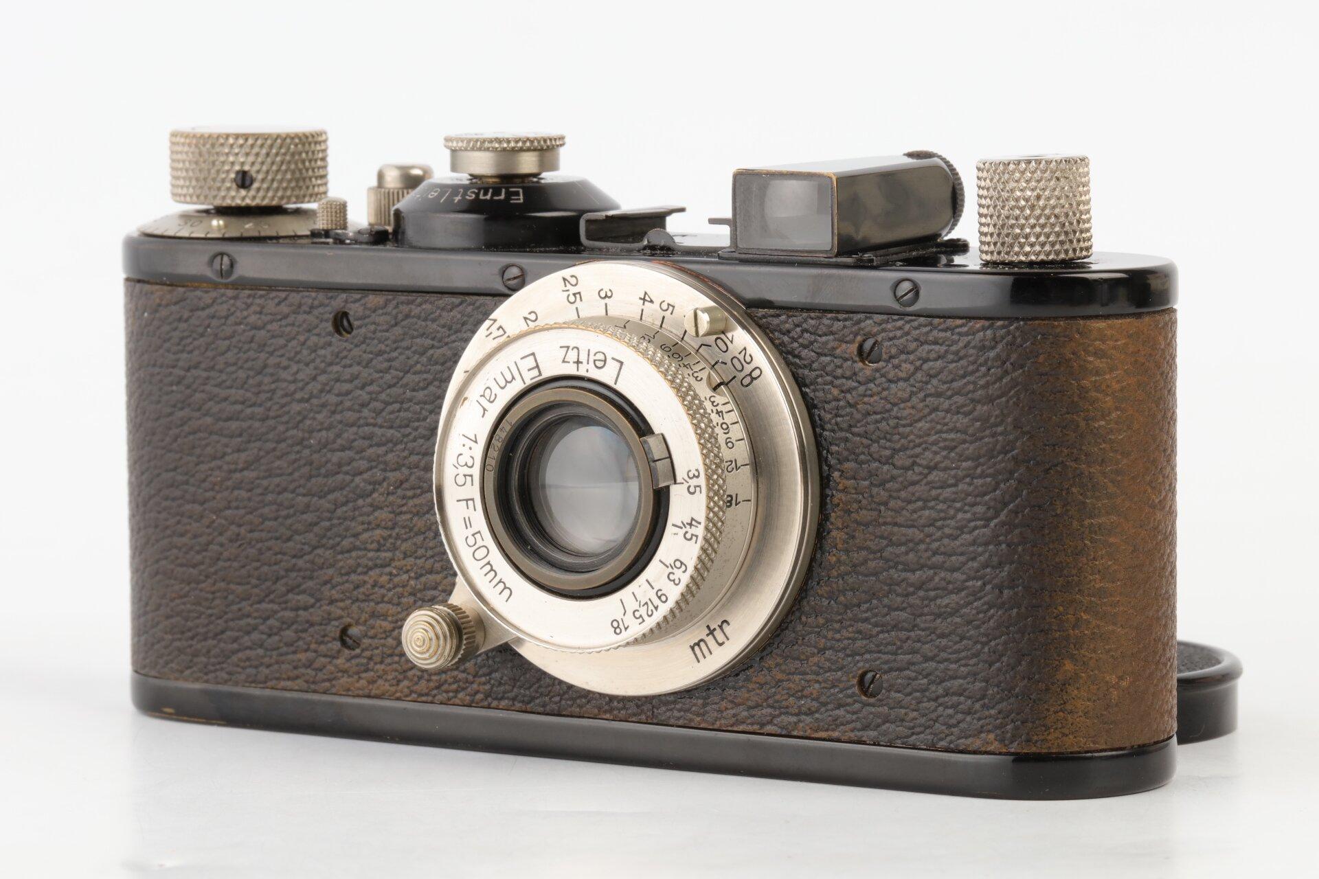Leica Standard schwarz Leitz Elmar 3,5/50mm